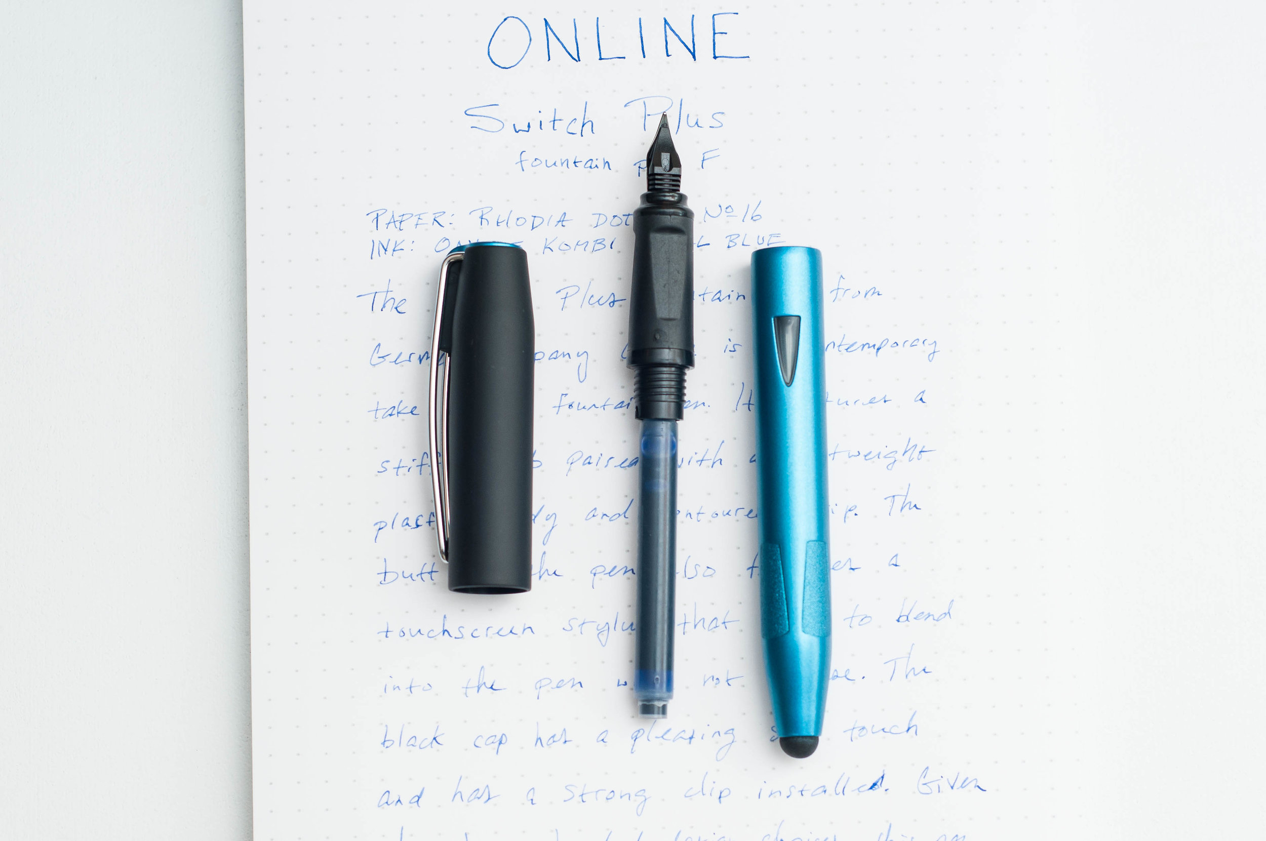 Online Switch Plus Fountain Pen Cartridge