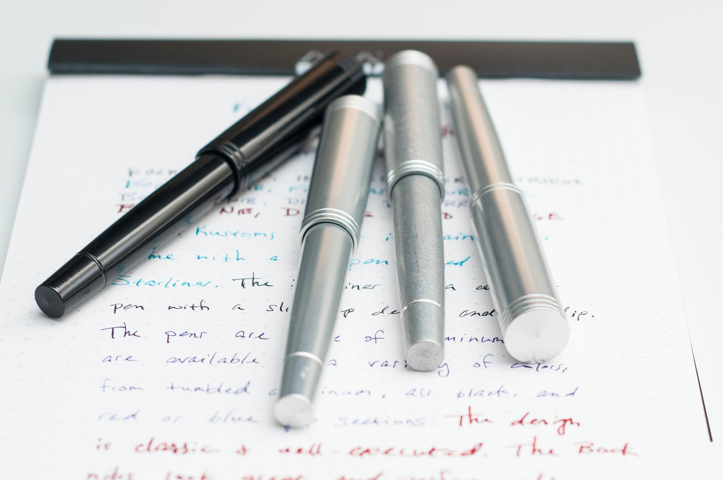 Karas Kustoms Starliner Fountain Pen Review