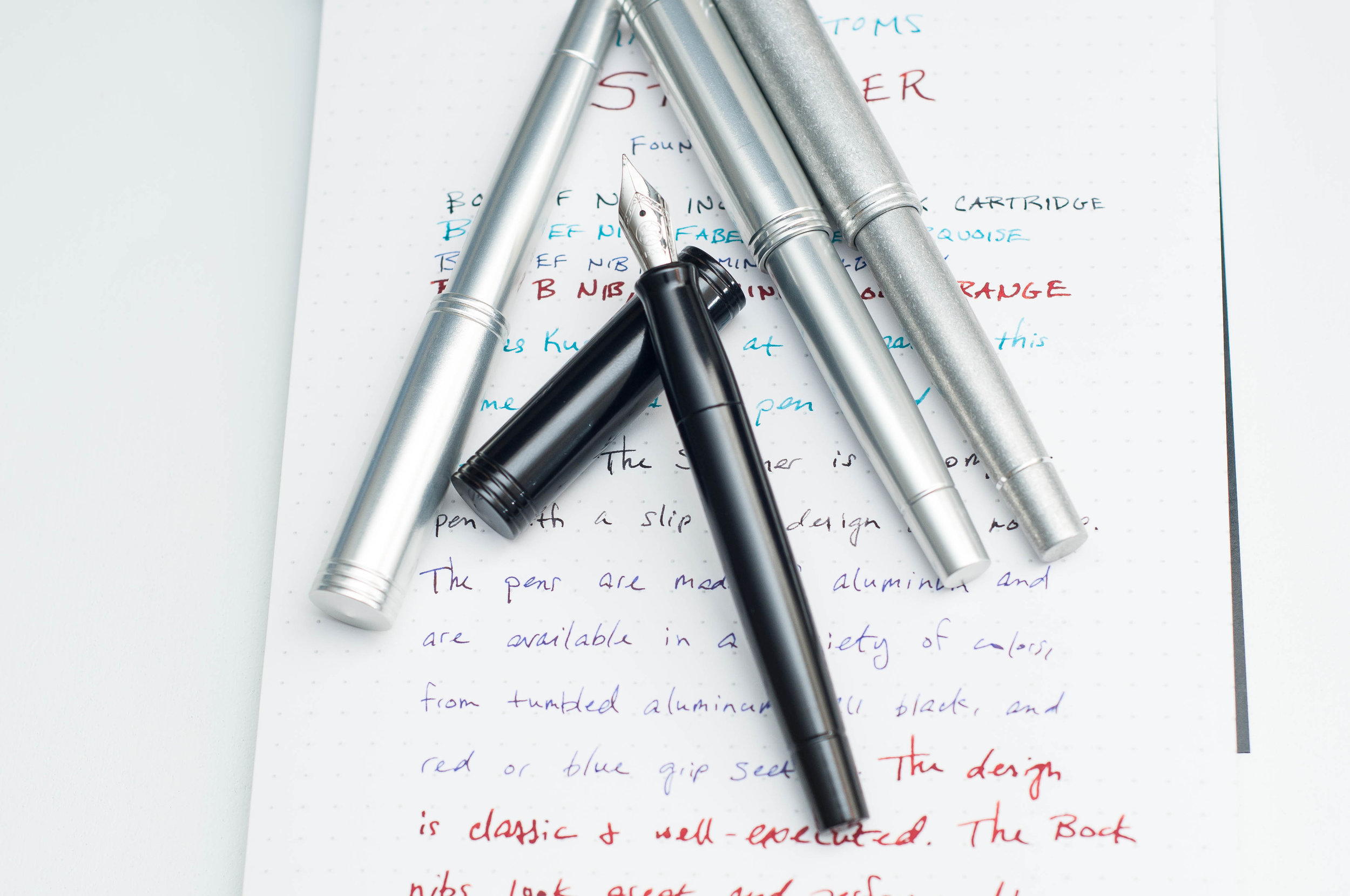 Karas Kustoms Starliner Fountain Pen Black
