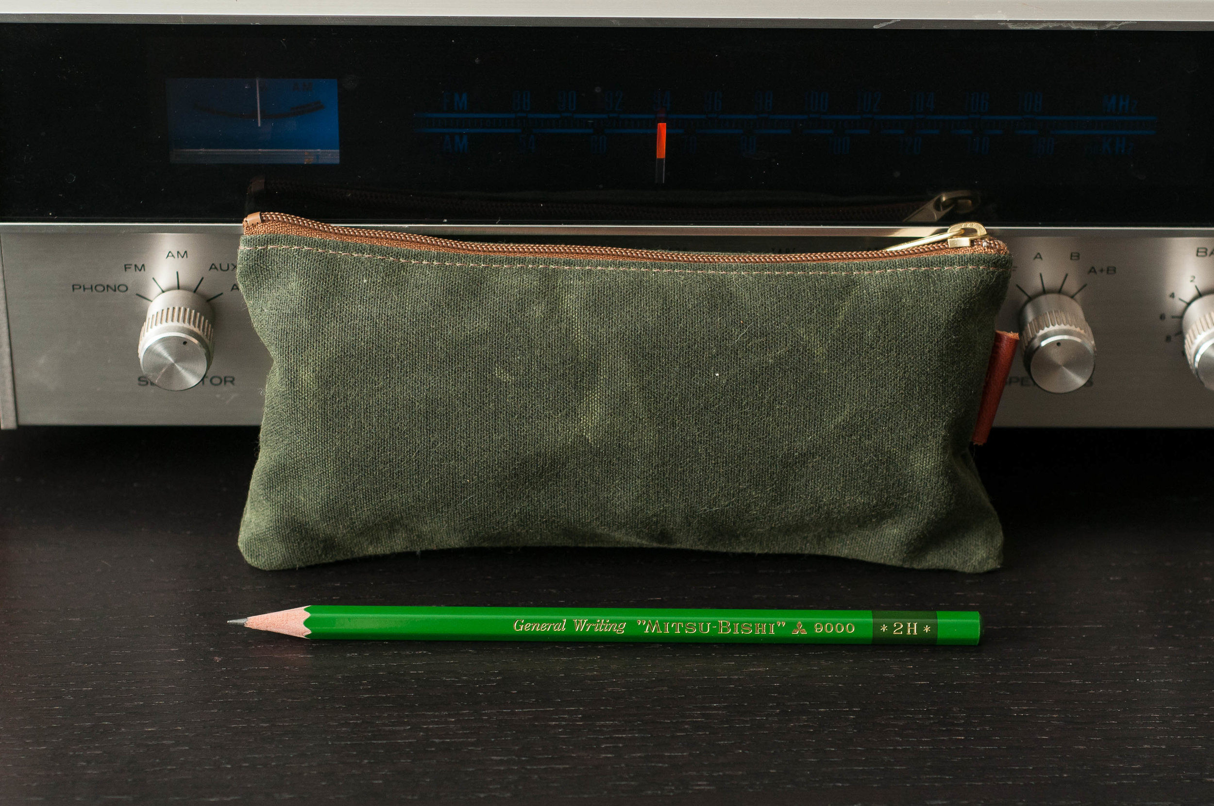 Passage One California Pouch Waxed Canvas