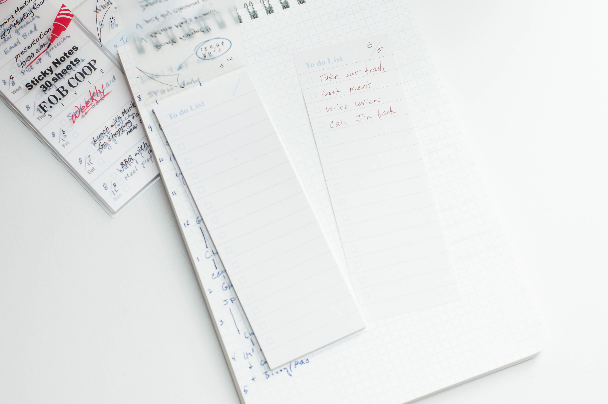 Kyokuto Sticky Notes Writing