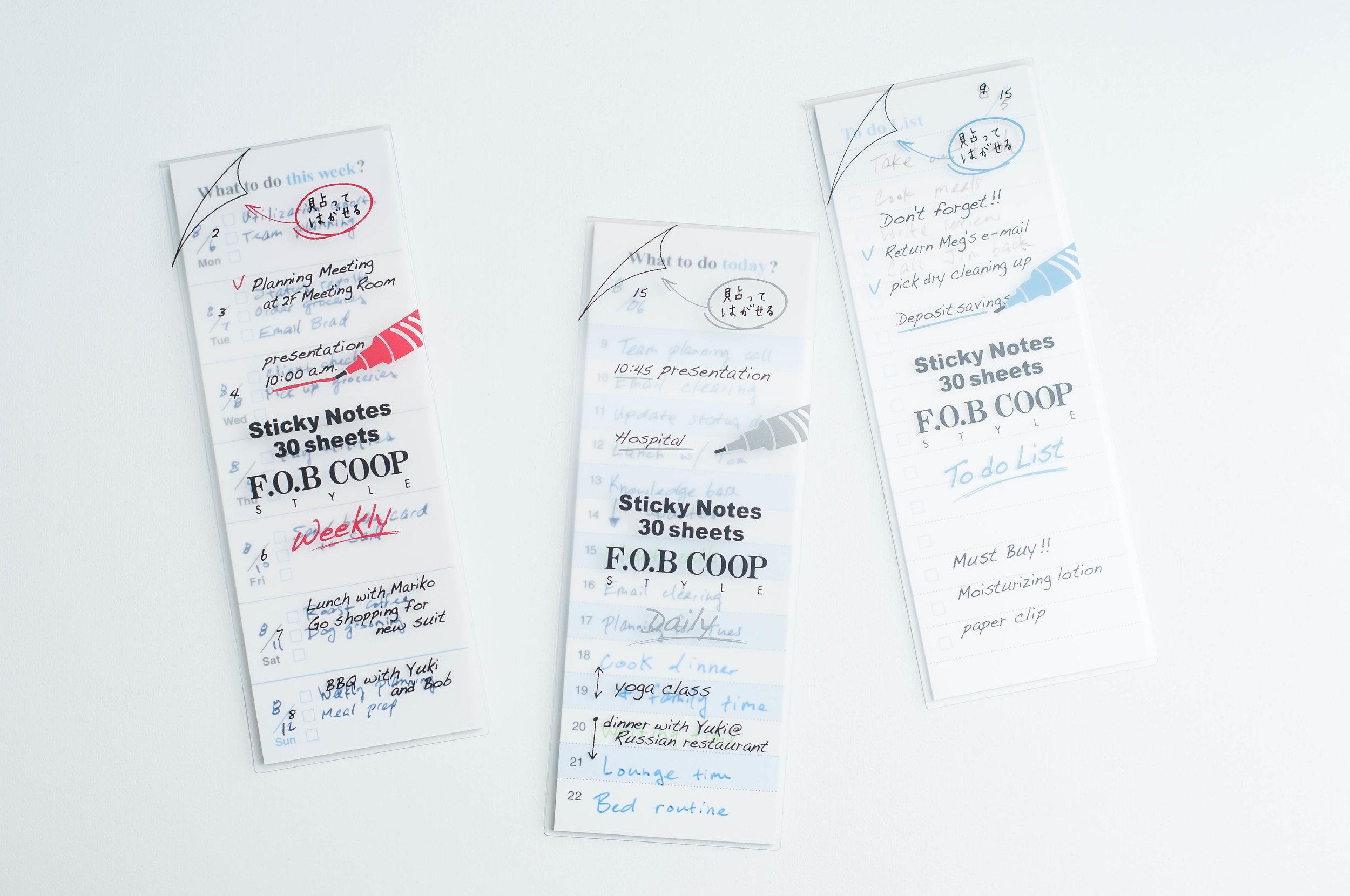 Kyokuto Sticky Notes Styles