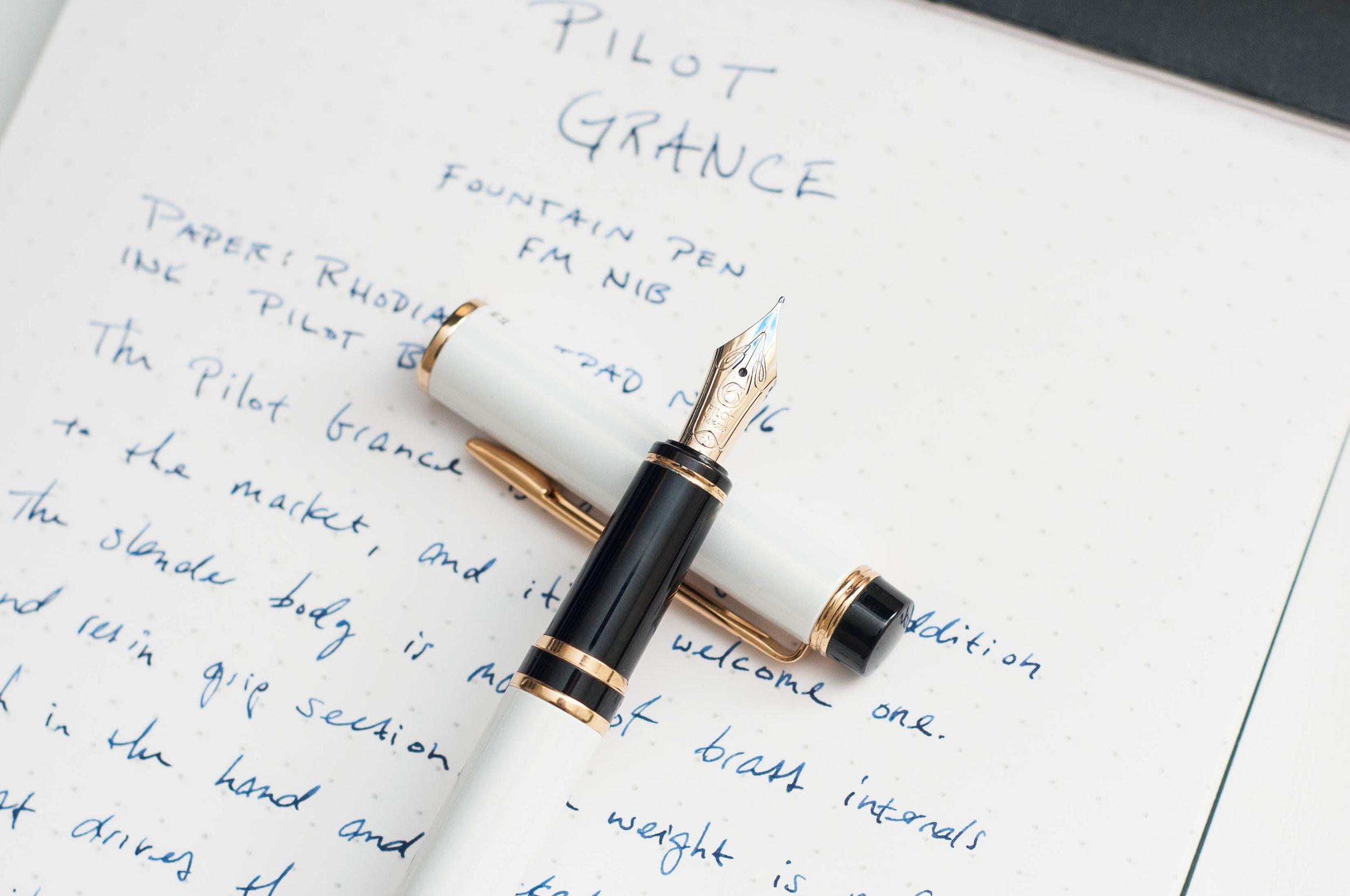 Pilot Grance Fountain Pen Section