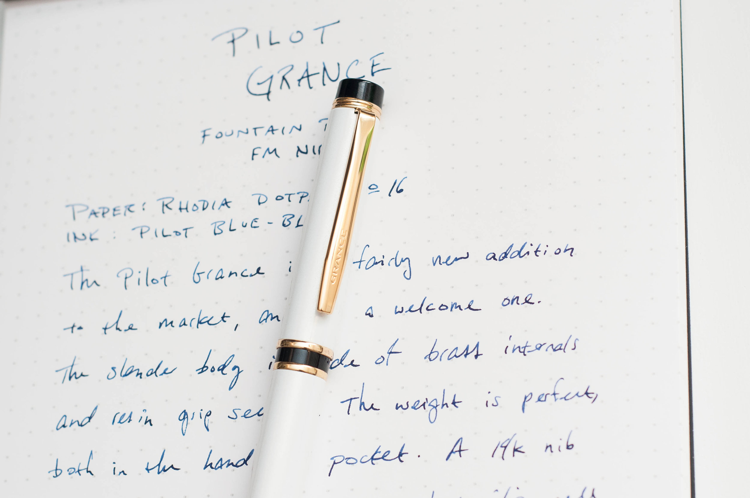 Pilot Grance Fountain Pen Cap