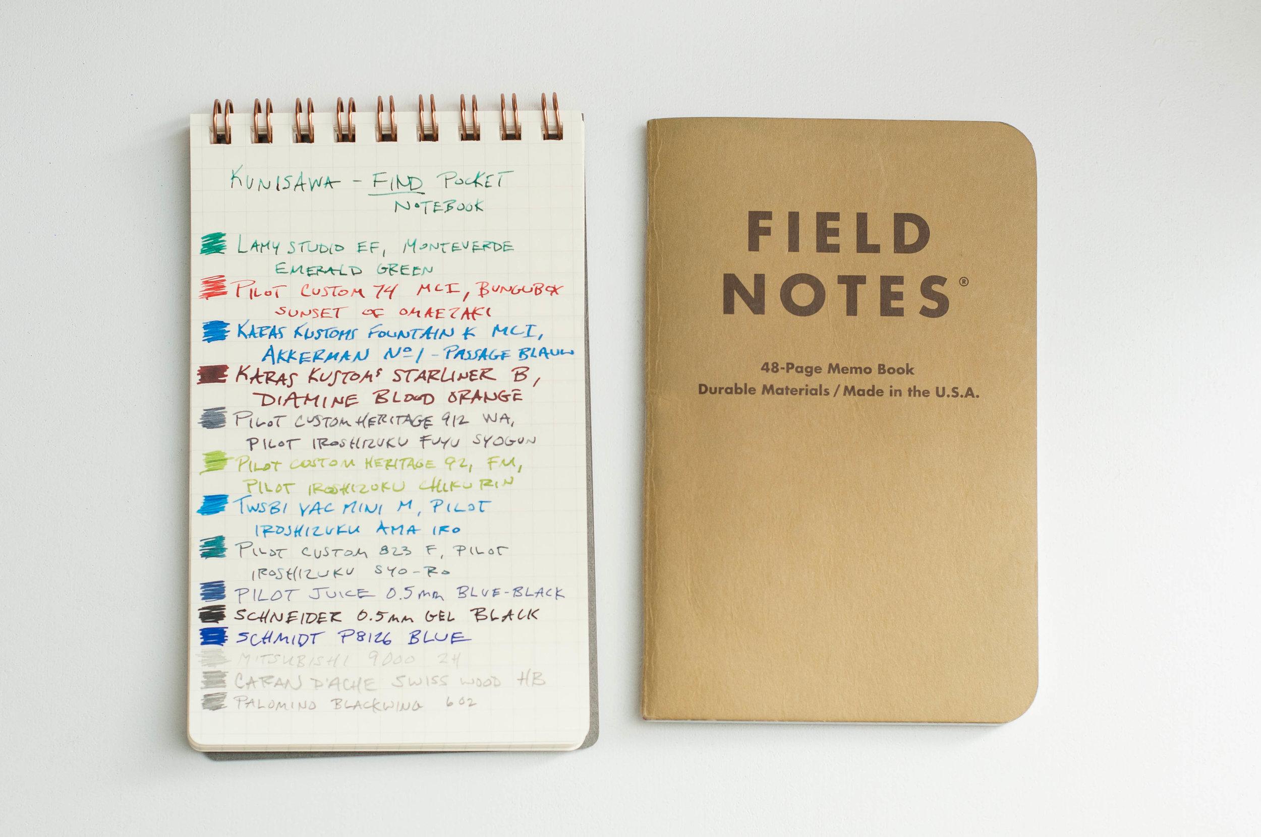 Kunisawa Find Notebook