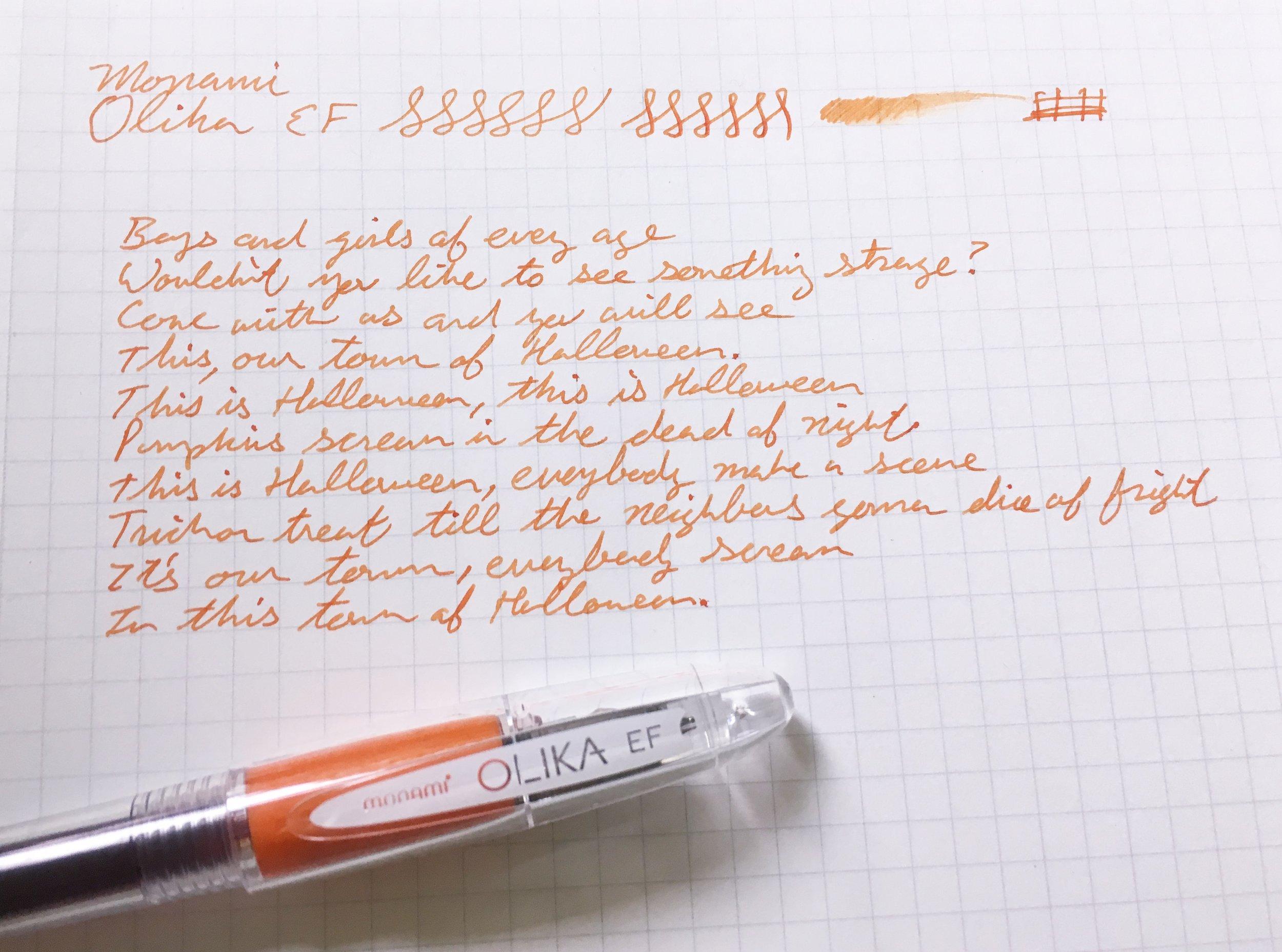 Monami Olika Fountain Pen Review