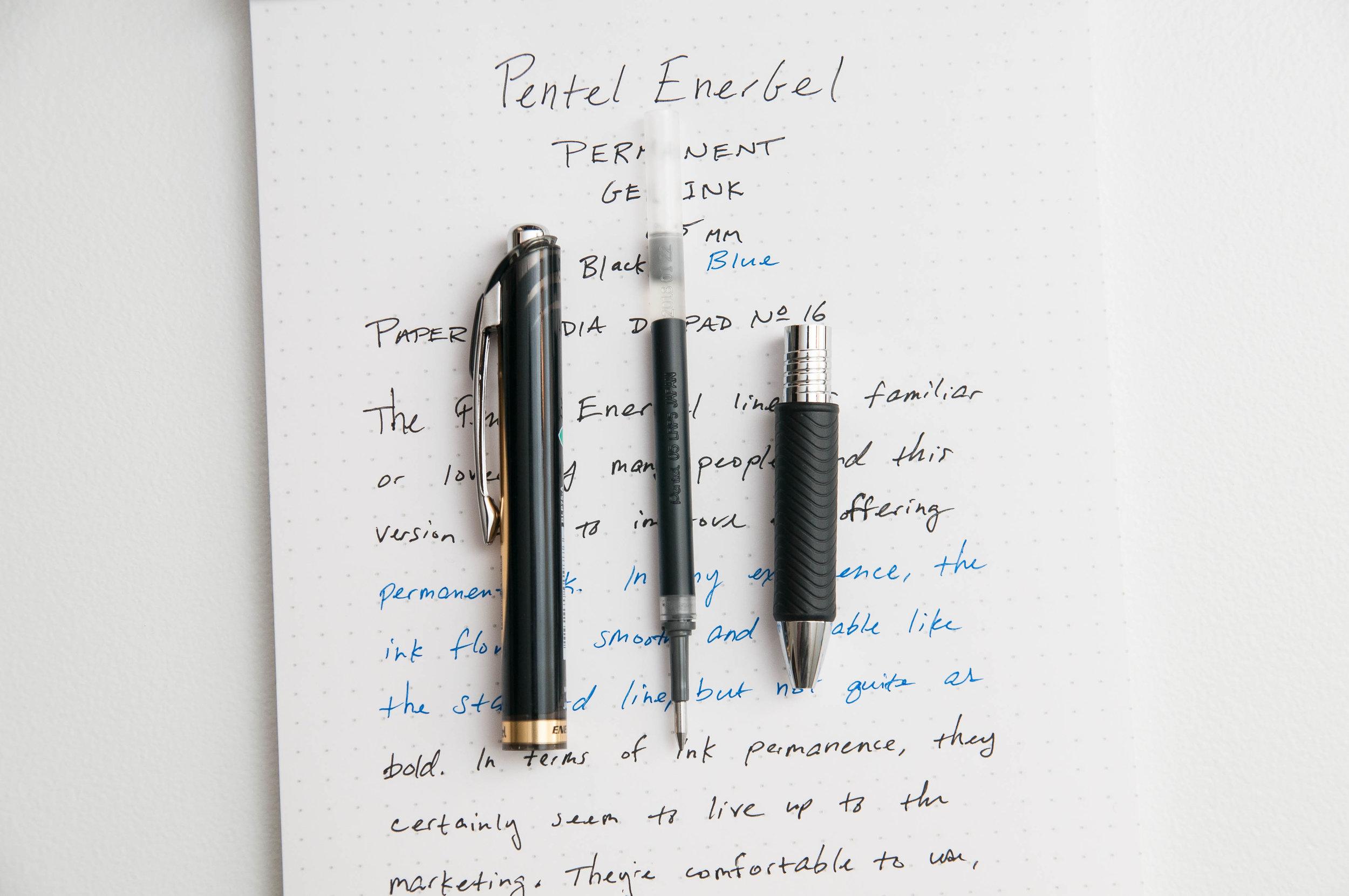 Pentel EnerGel Permanent Gel Ink Pen