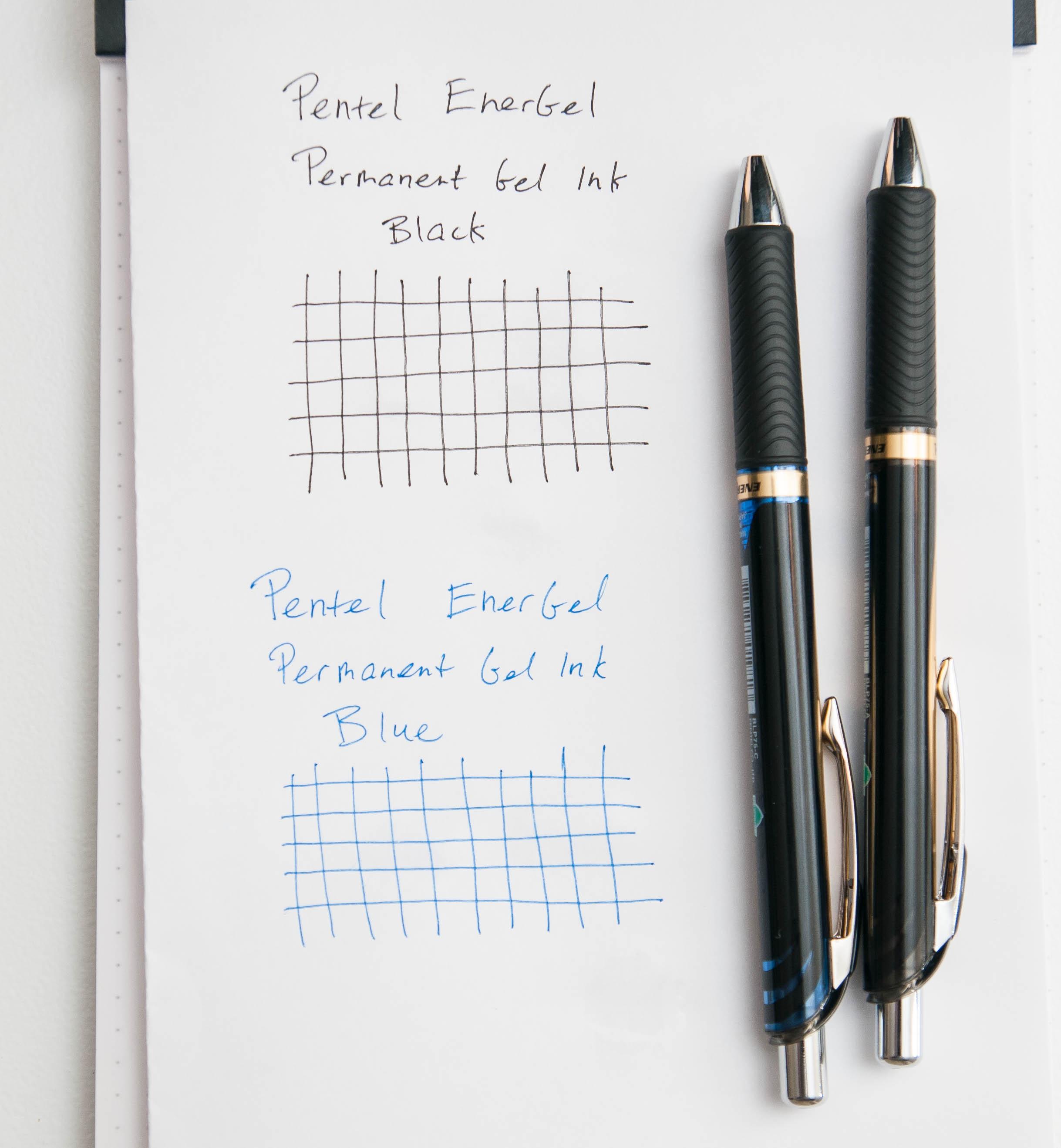 Pentel EnerGel Permanent Gel Ink