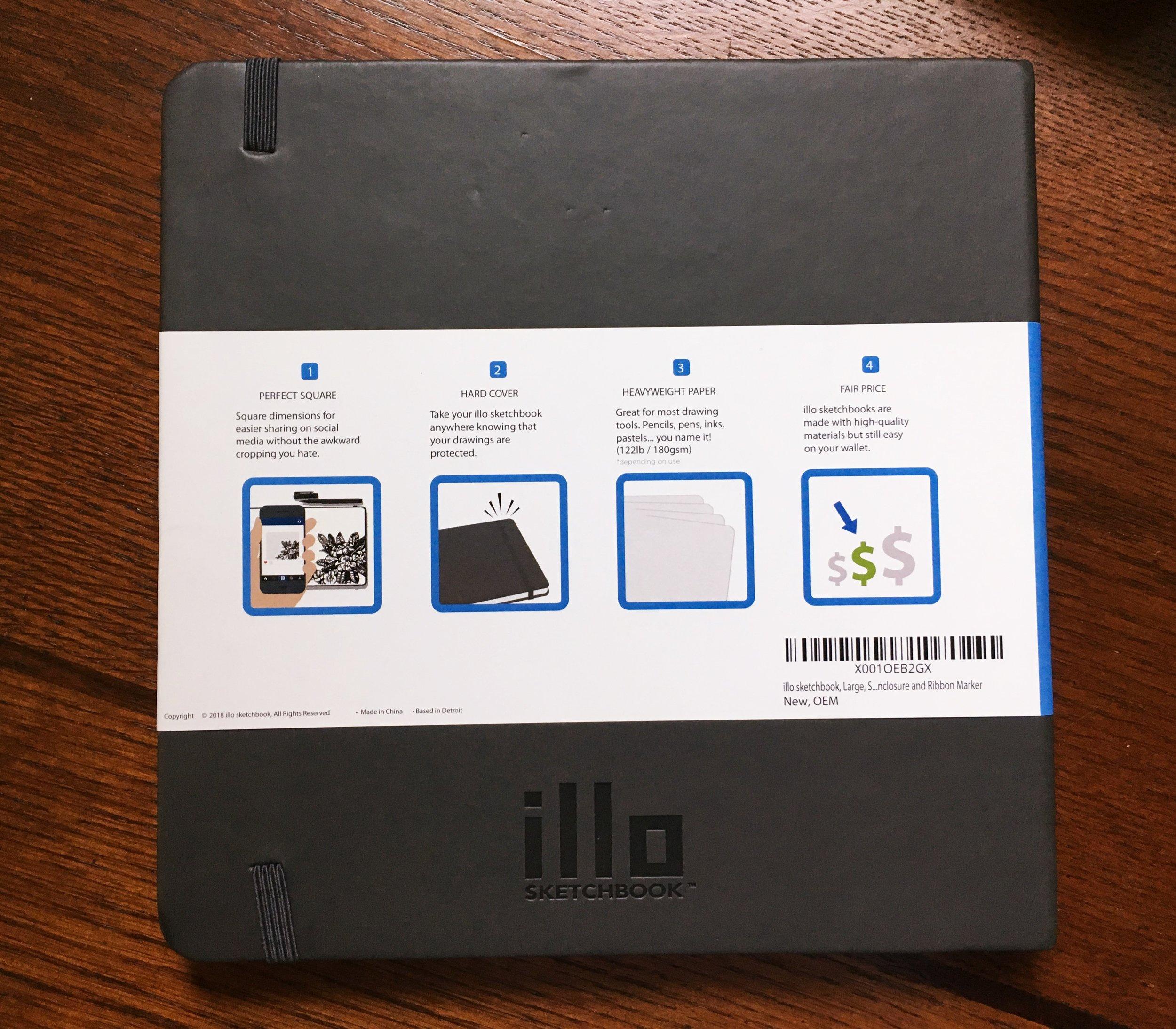 illo Sketchbook Cover