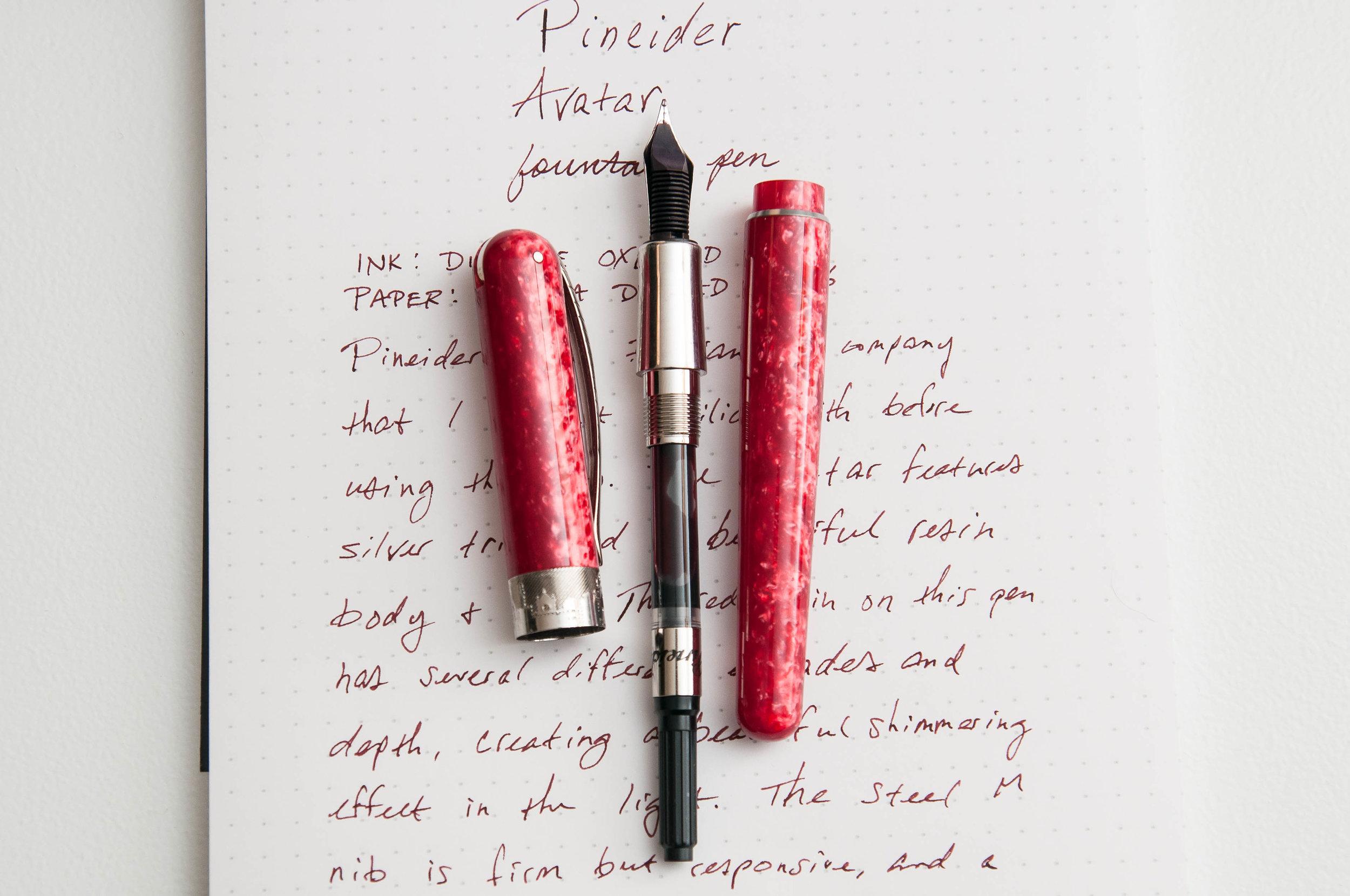 Pineider Avatar Fountain Pen Converter