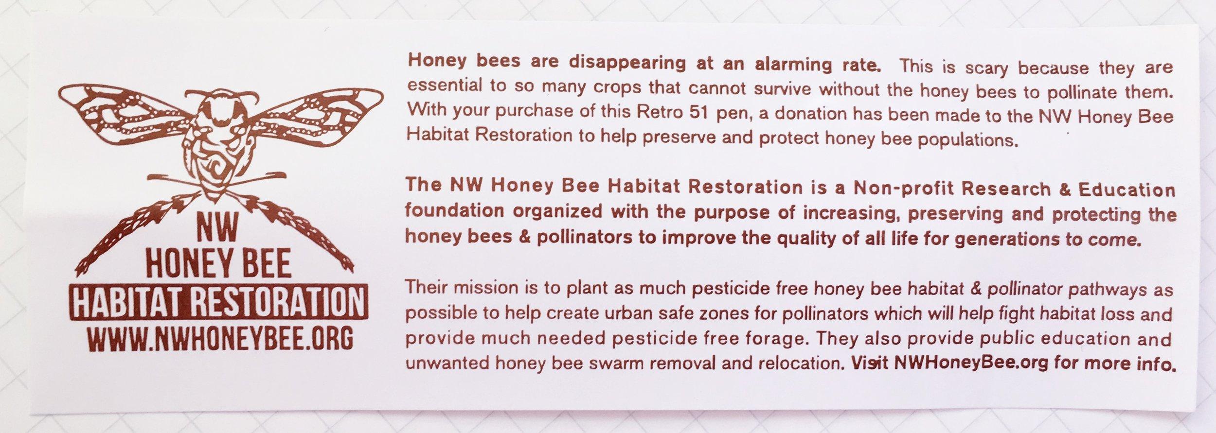 Retro 51 Rescue Tornado Buzz Honey Bee Habitat