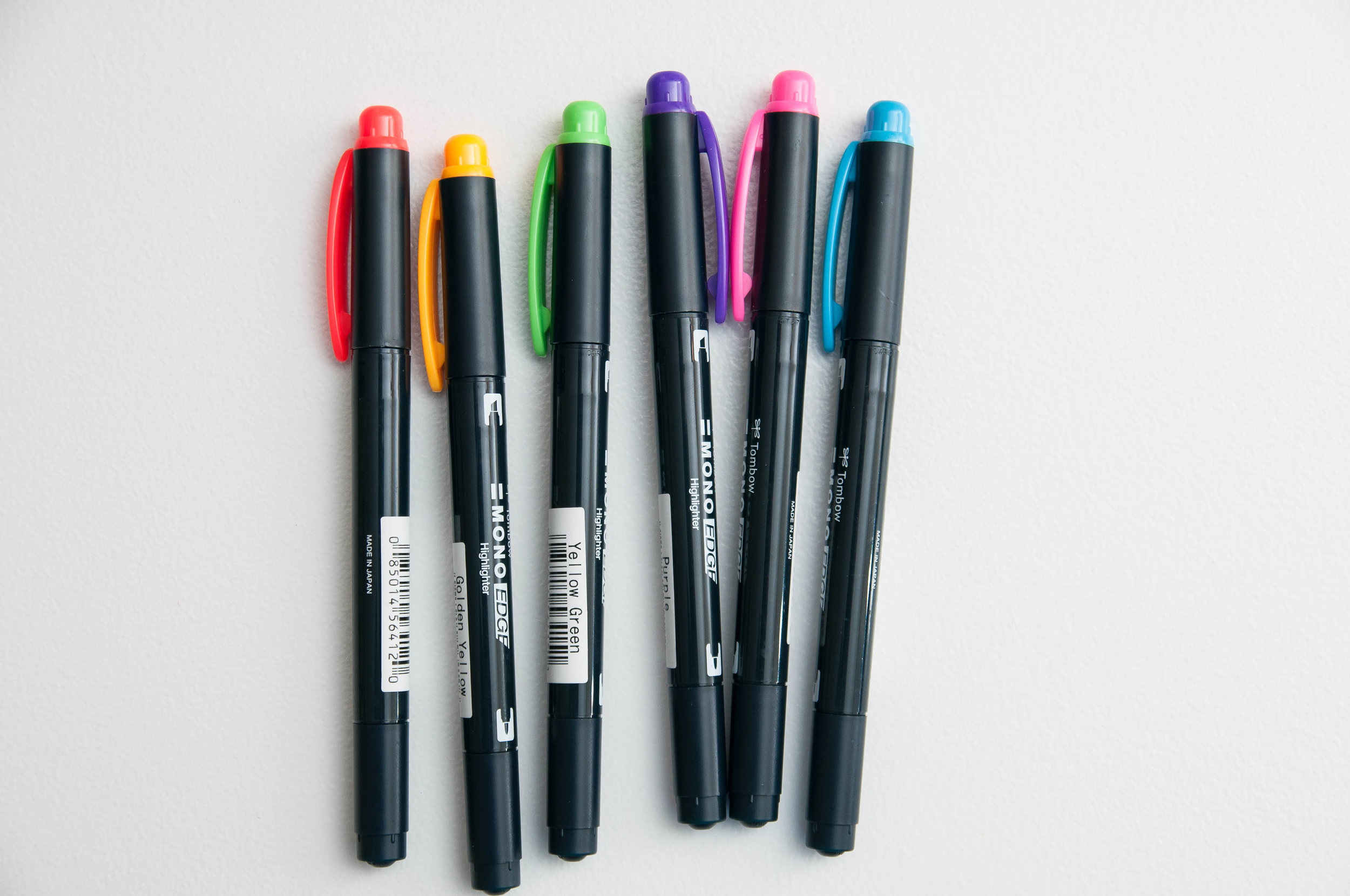Tombow Mono Edge Dual-tip Highlighter Review