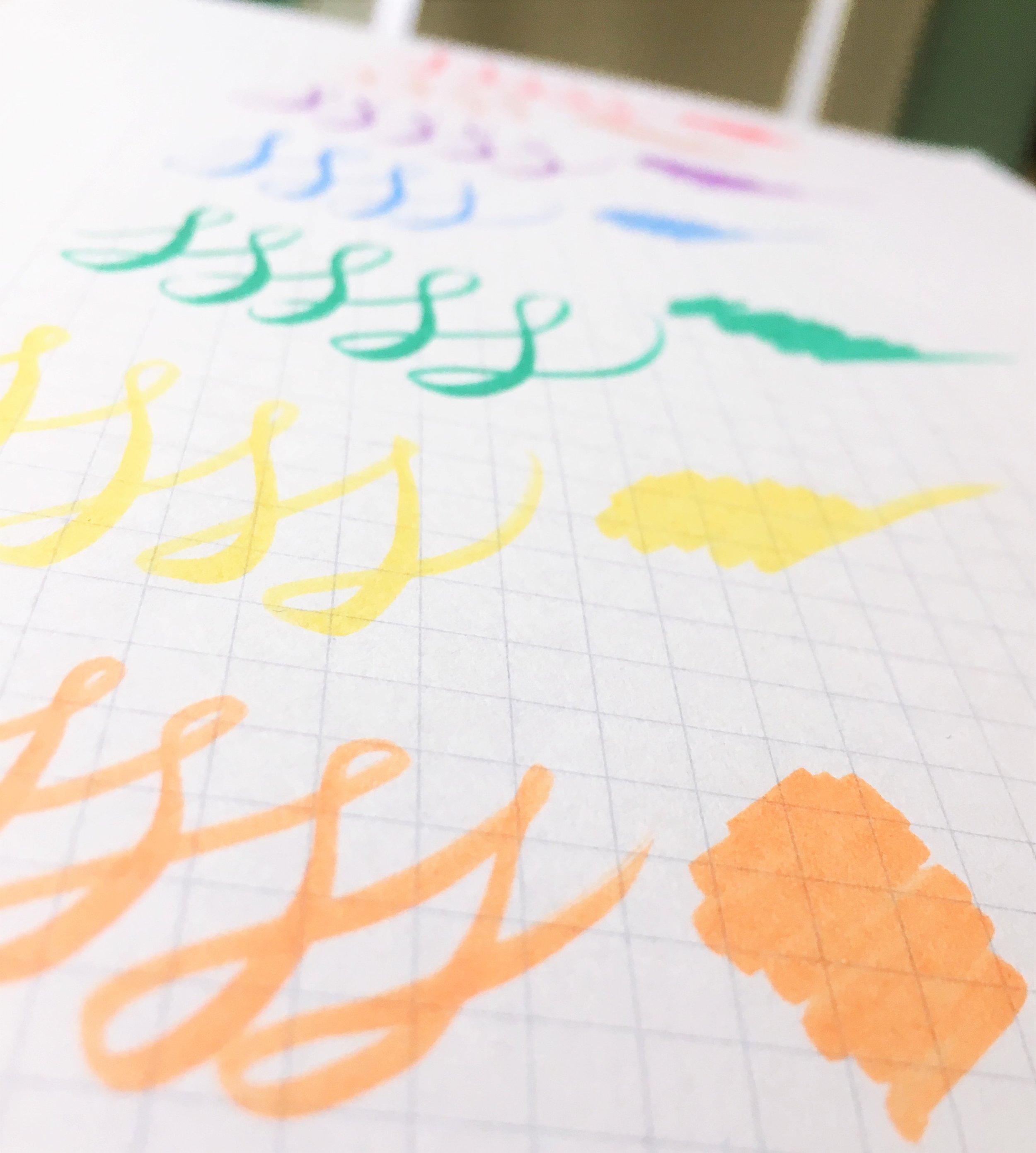 ShinHan Art Touch Liner Brush Colors
