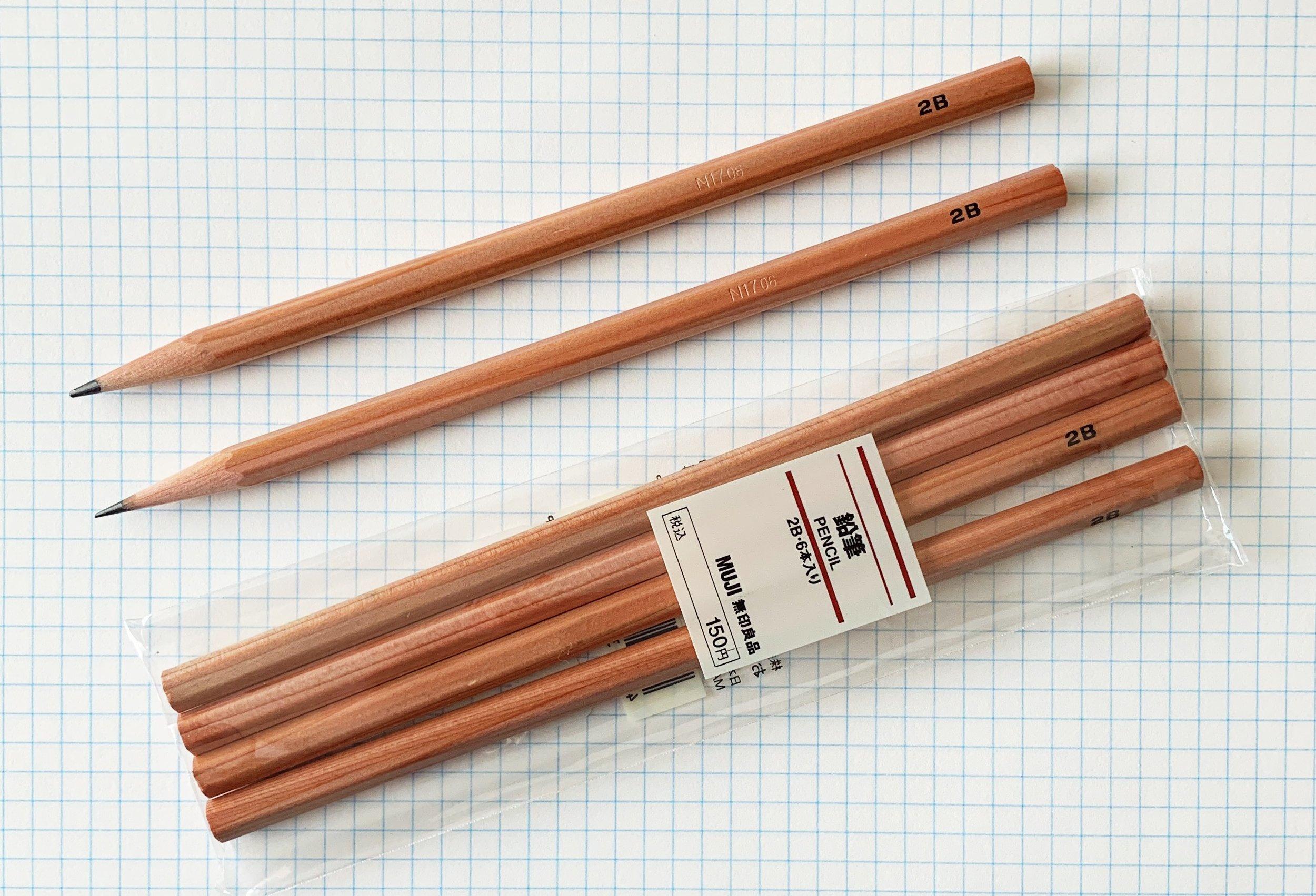 Muji 2B Pencil Review