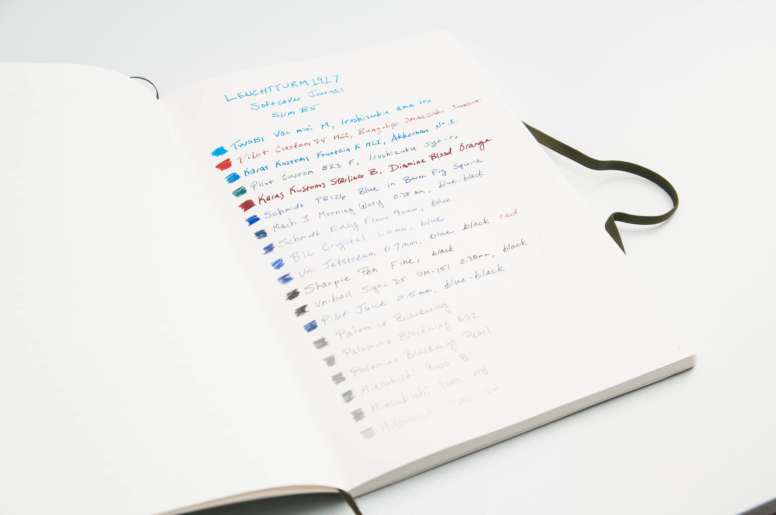 Leuchtturm 1917 Softcover Composition Notebook Review — The