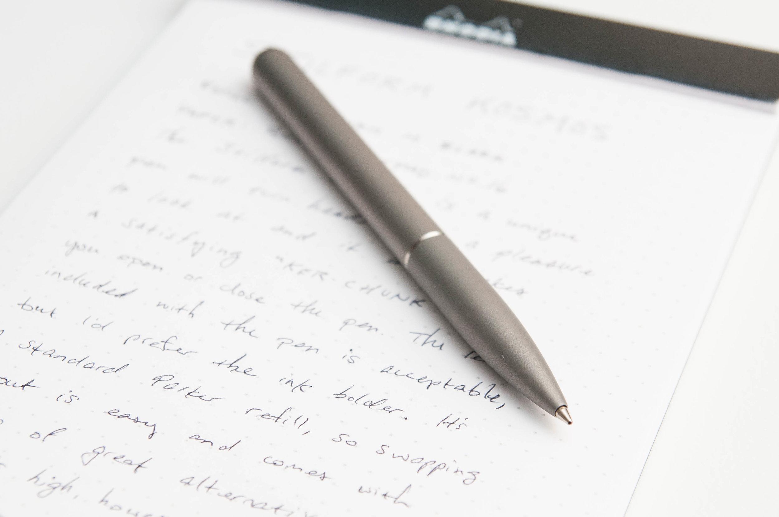 Stilform Kosmos Ballpoint Pen Review
