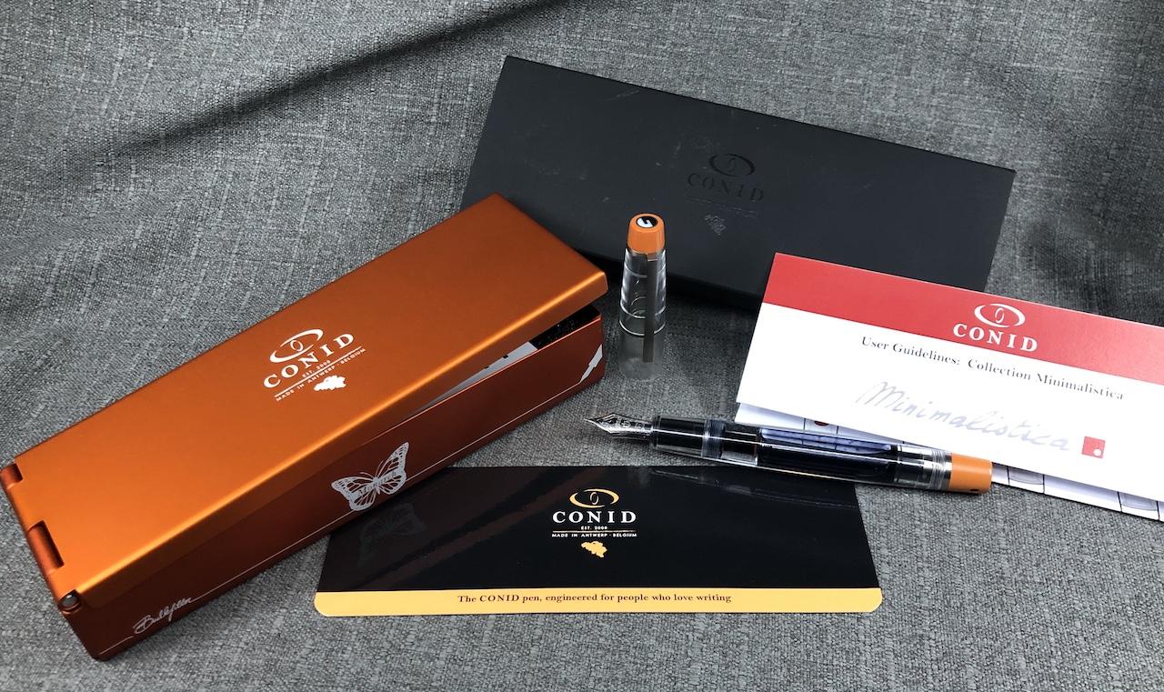 Conid Minimalistica Monarch Fountain Pen Review