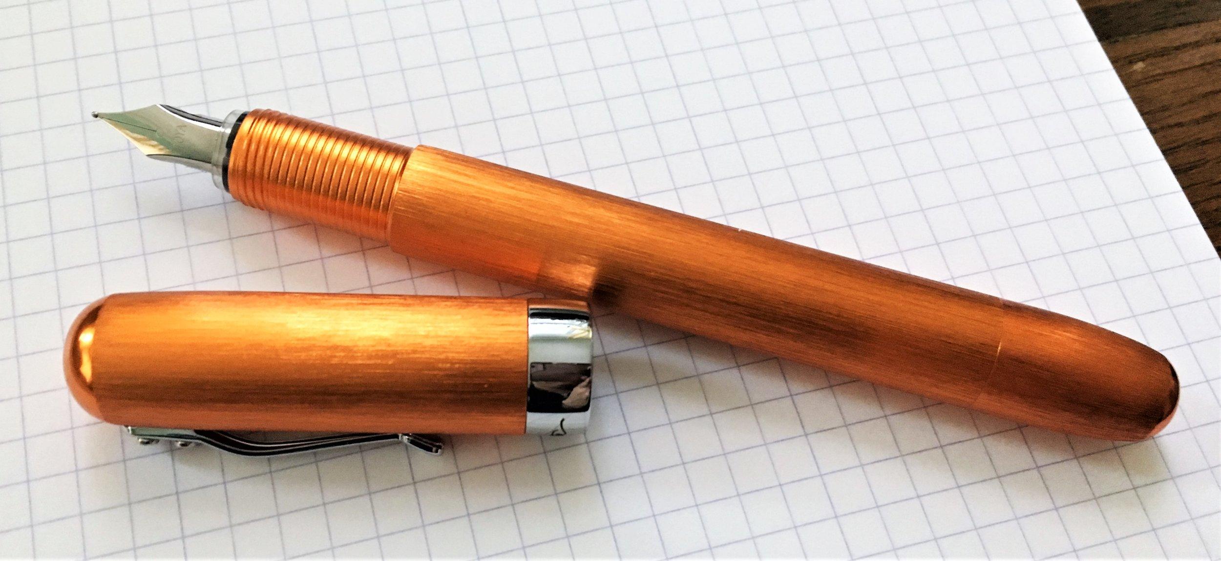 Itoya PaperSkater Galaxy Fountain Pen Barrel