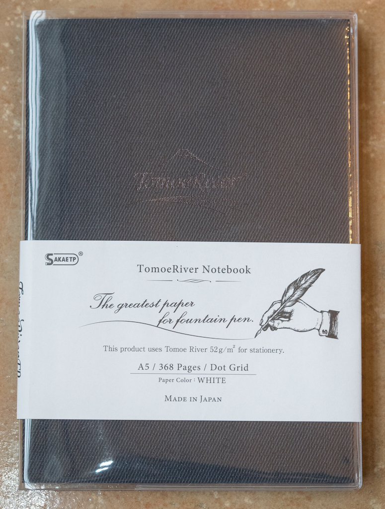 Tomoe River Notebook by Sakae Technical Paper Review