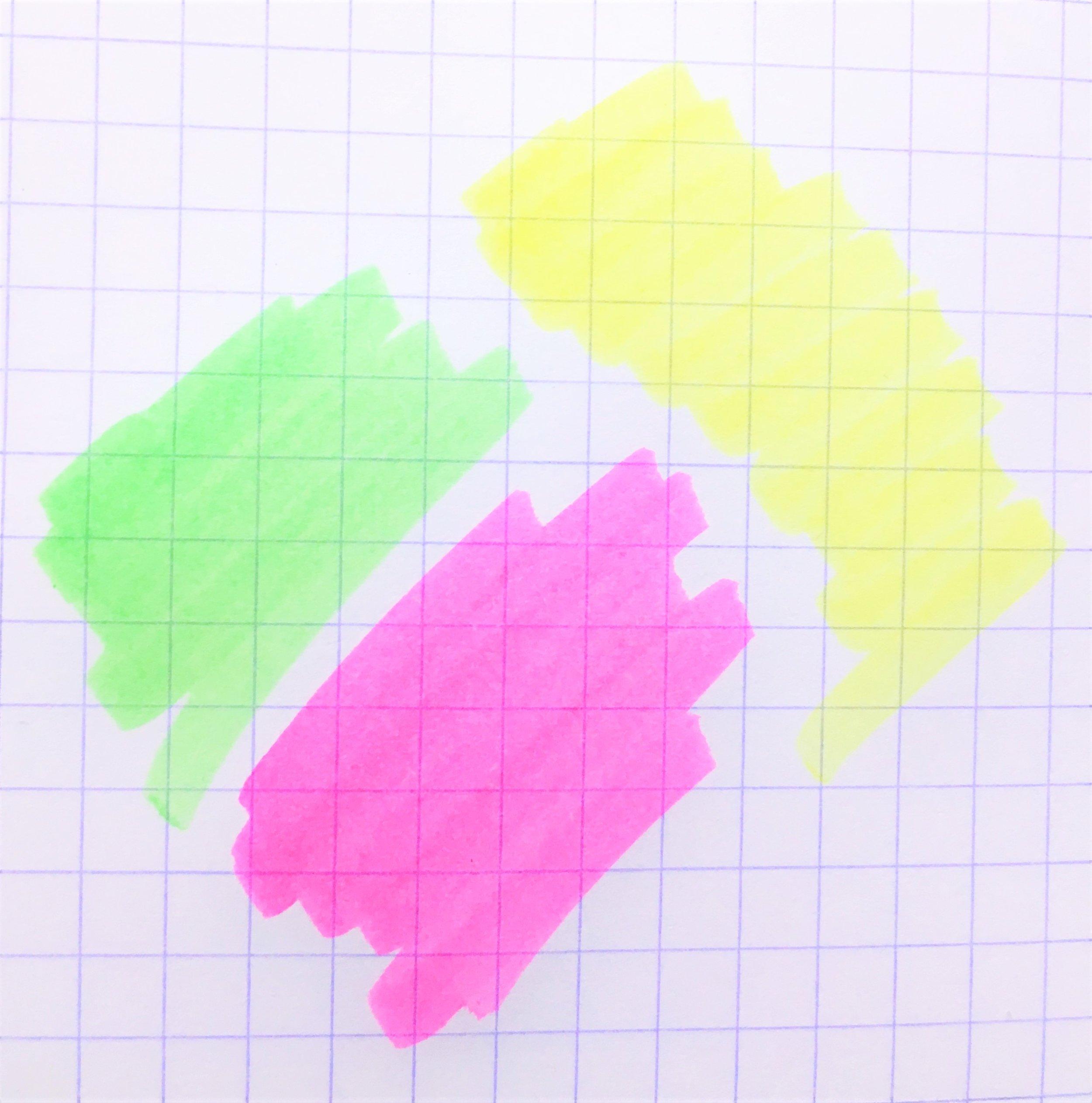 Zebra Justfit Mojini Line Highlighter Colors