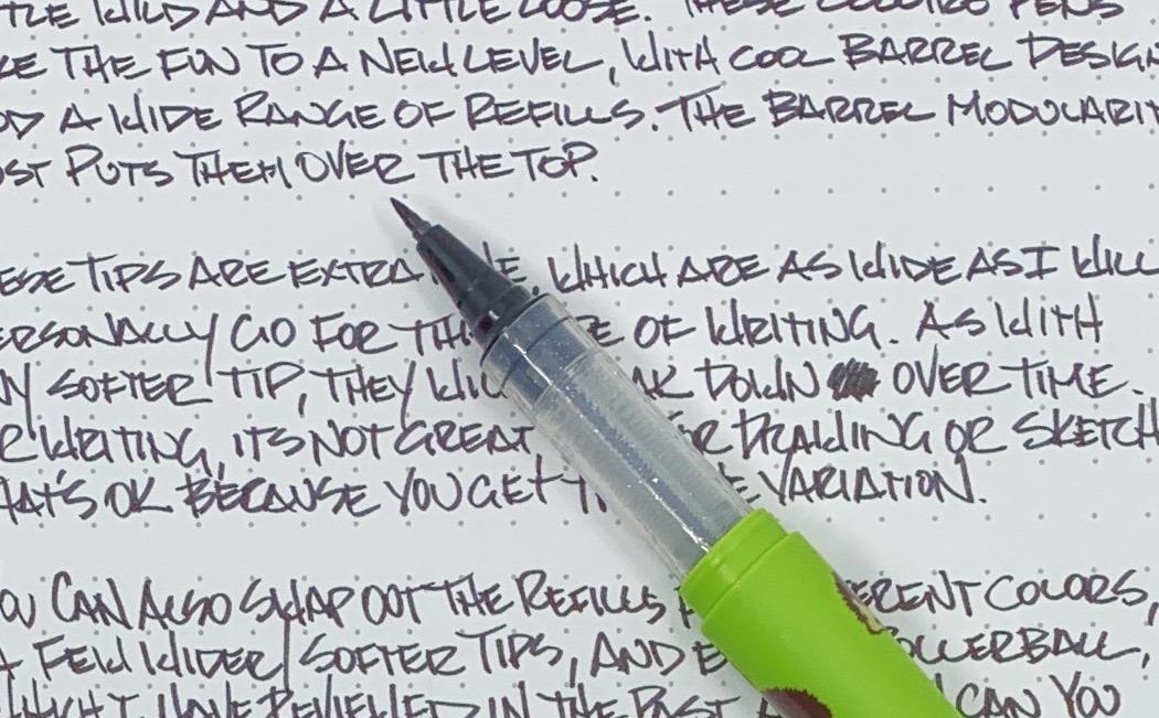 Kokuyo Zig Cocoiro Extra Fine Letter Pen Tip