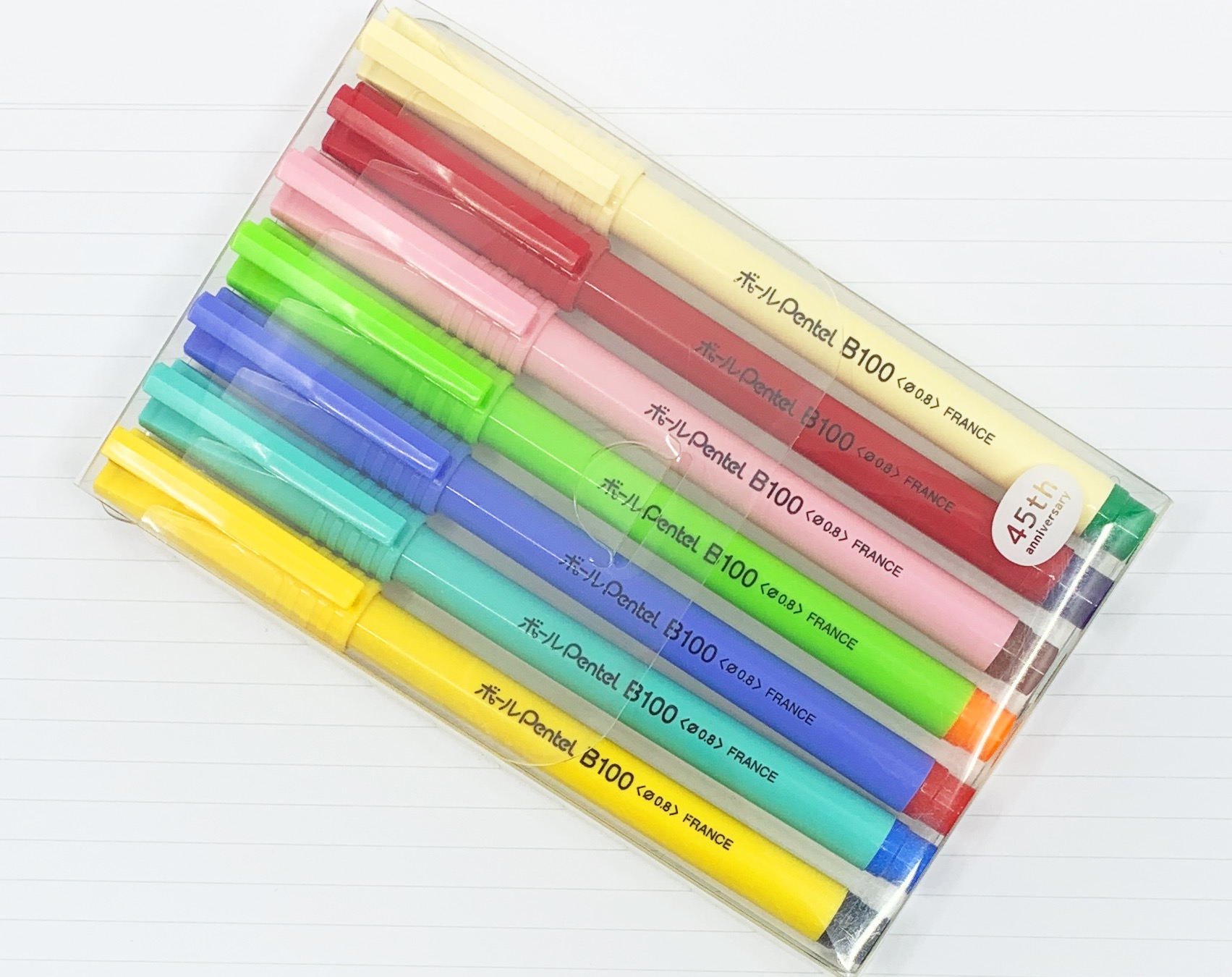 Pentel B100 45th Anniversary Pen Set Review