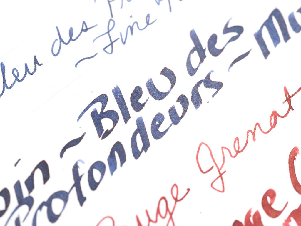 Bleu de Profonduers Writing.jpg