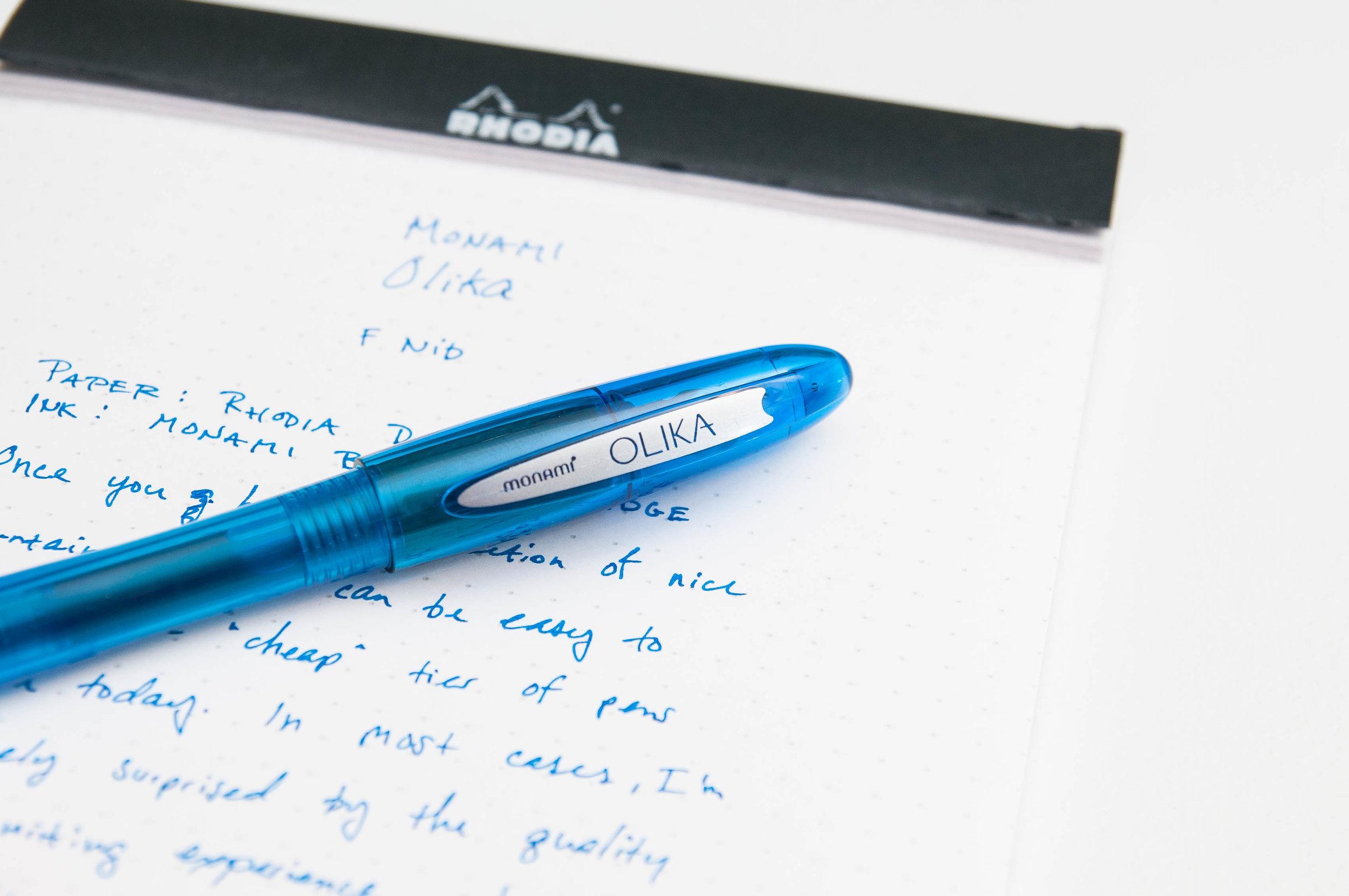 Monami Olika Fountain Pen Clip