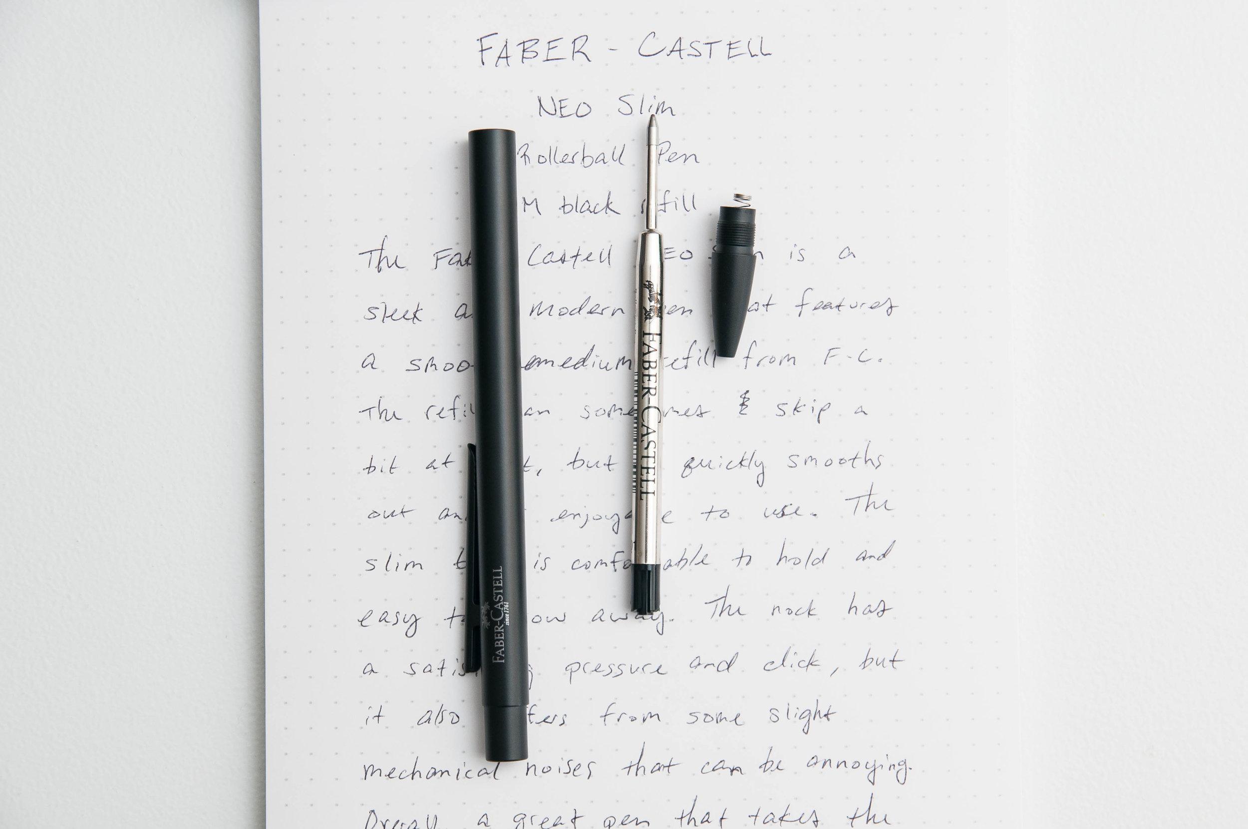 Faber-Castell NEO Slim Rollerball Pen