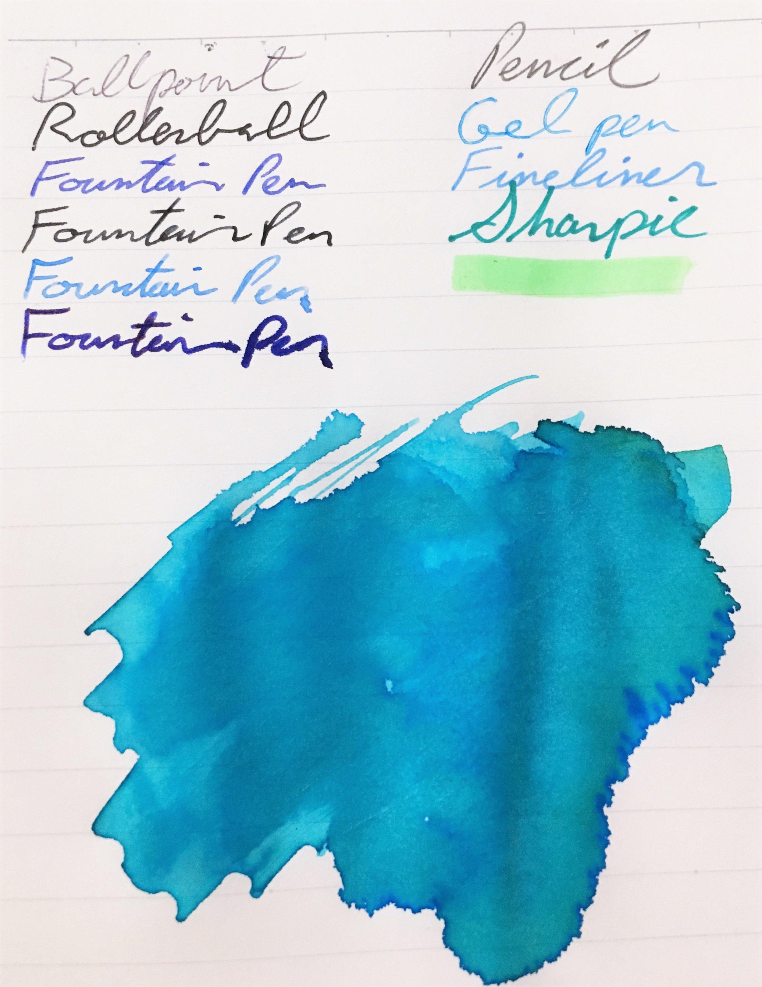 Kokuyo Campus High Grade MIO Paper Notebook Fountain Pen
