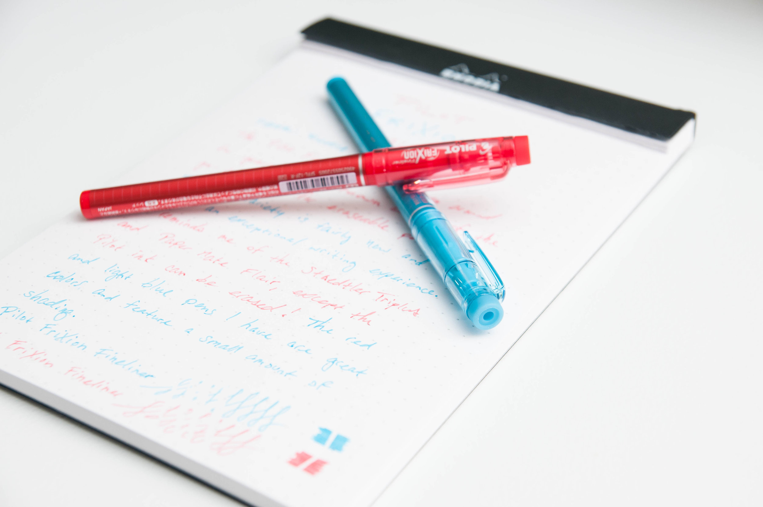 Pilot FriXion Fineliner Review