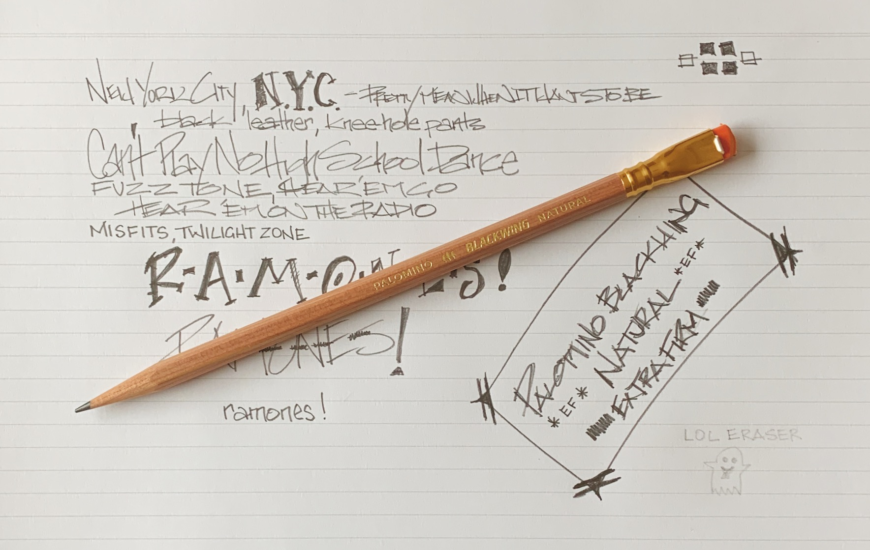 Palomino Blackwing Natural Page