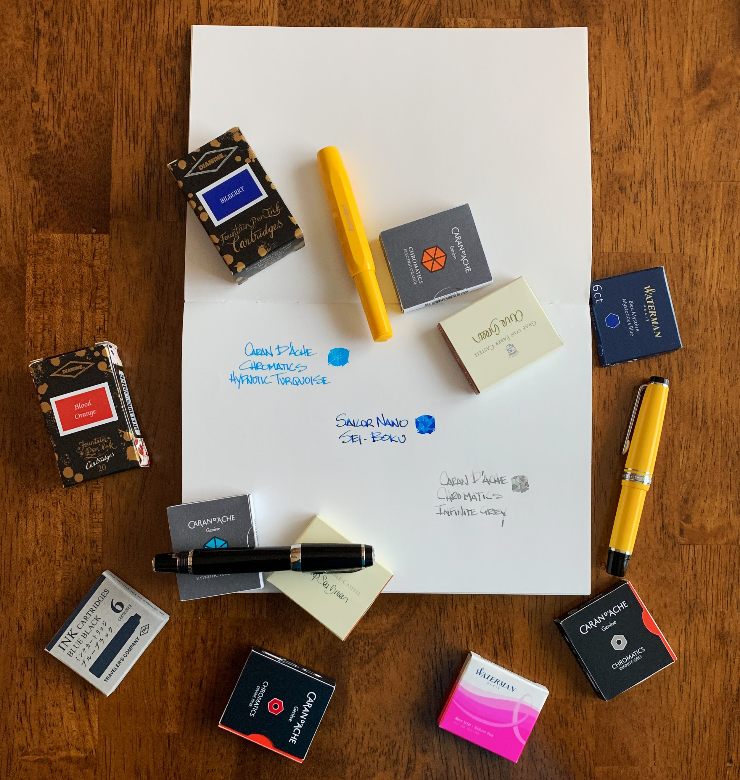 Fountain Pen Ink Cartridges