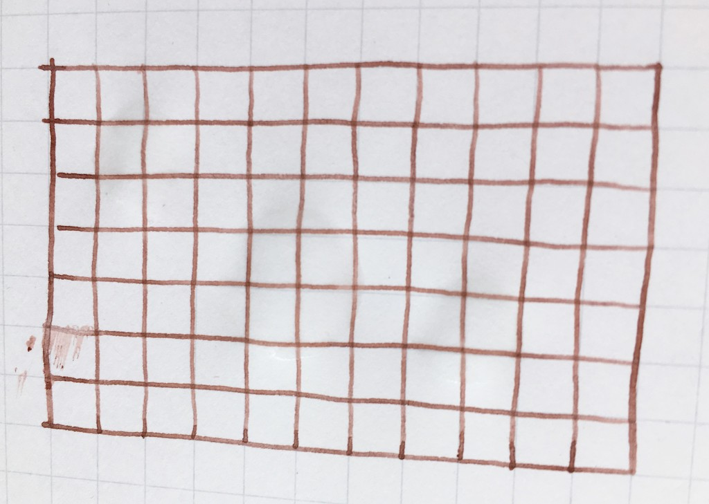 Platinum Pigment Brun Sepia Ink Waterproof