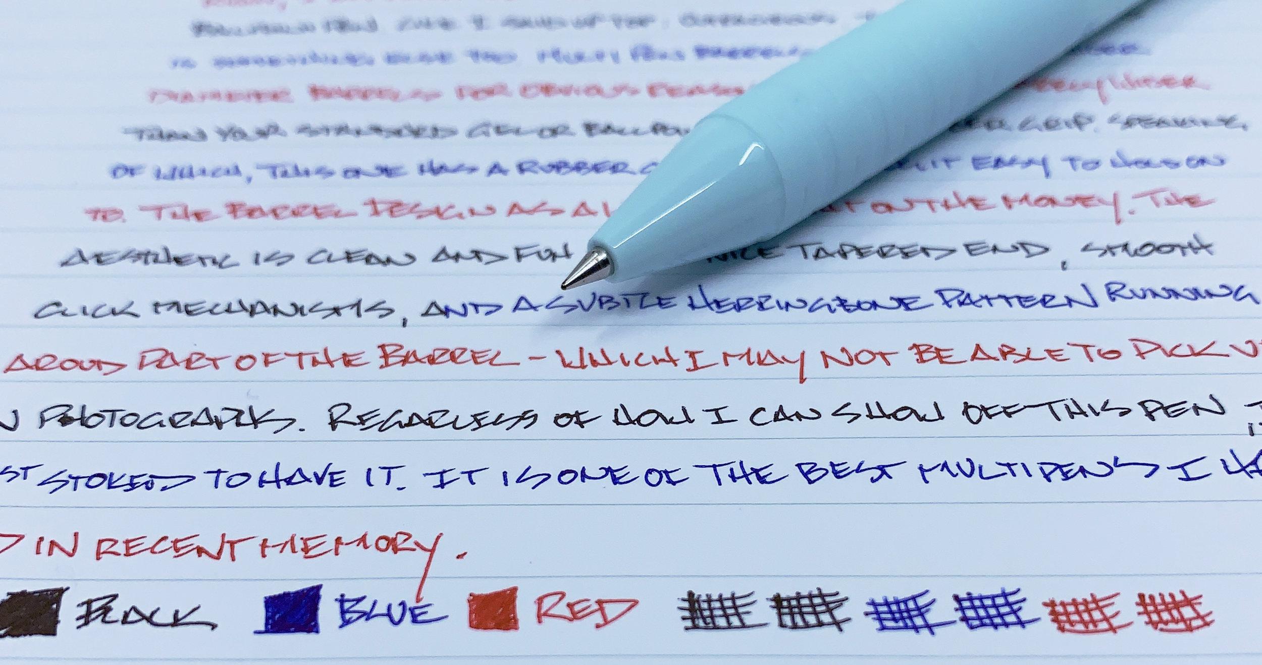Uni Jetstream Slim Multi Pen Writing