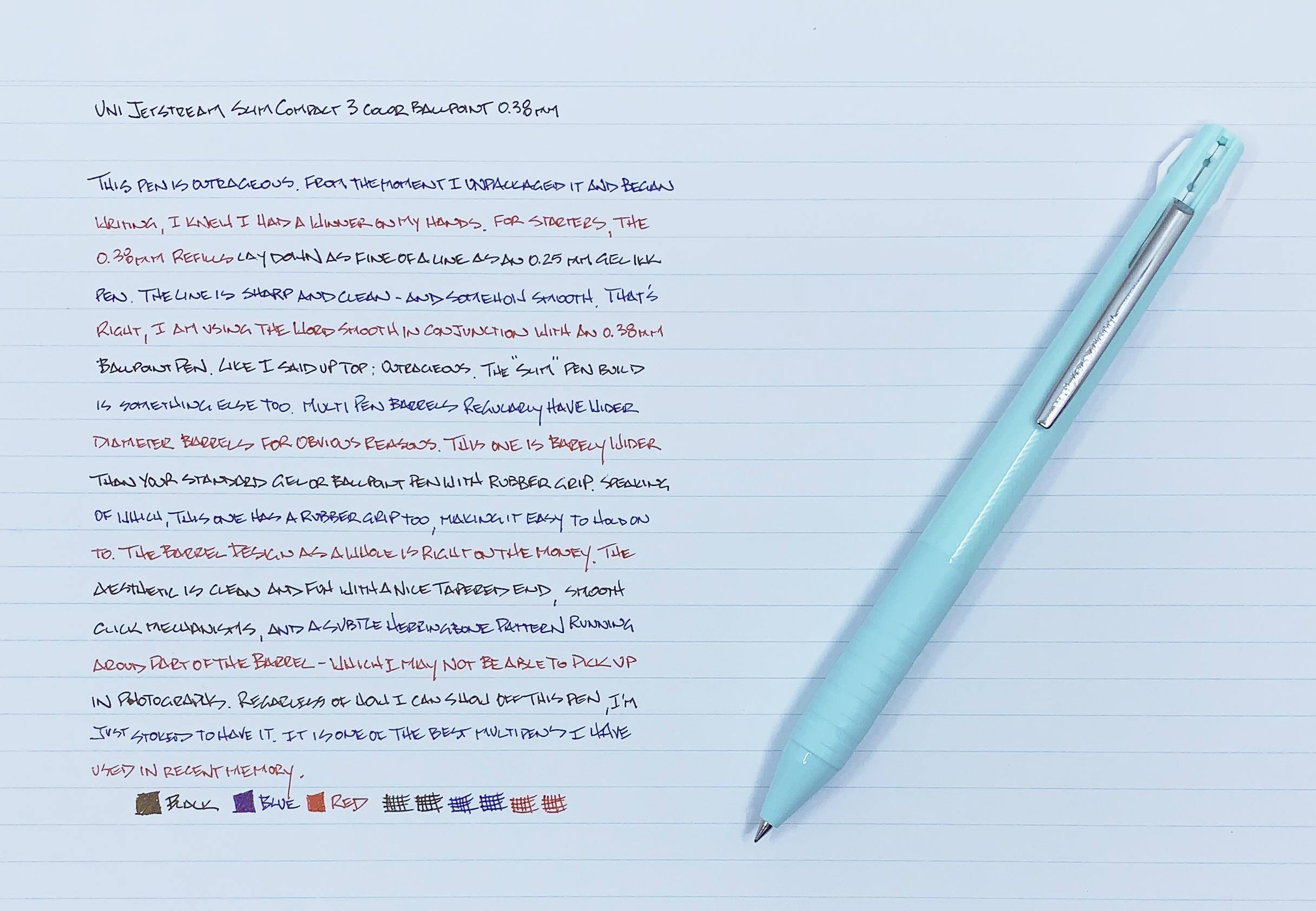 Uni Jetstream Slim Multi Pen Review