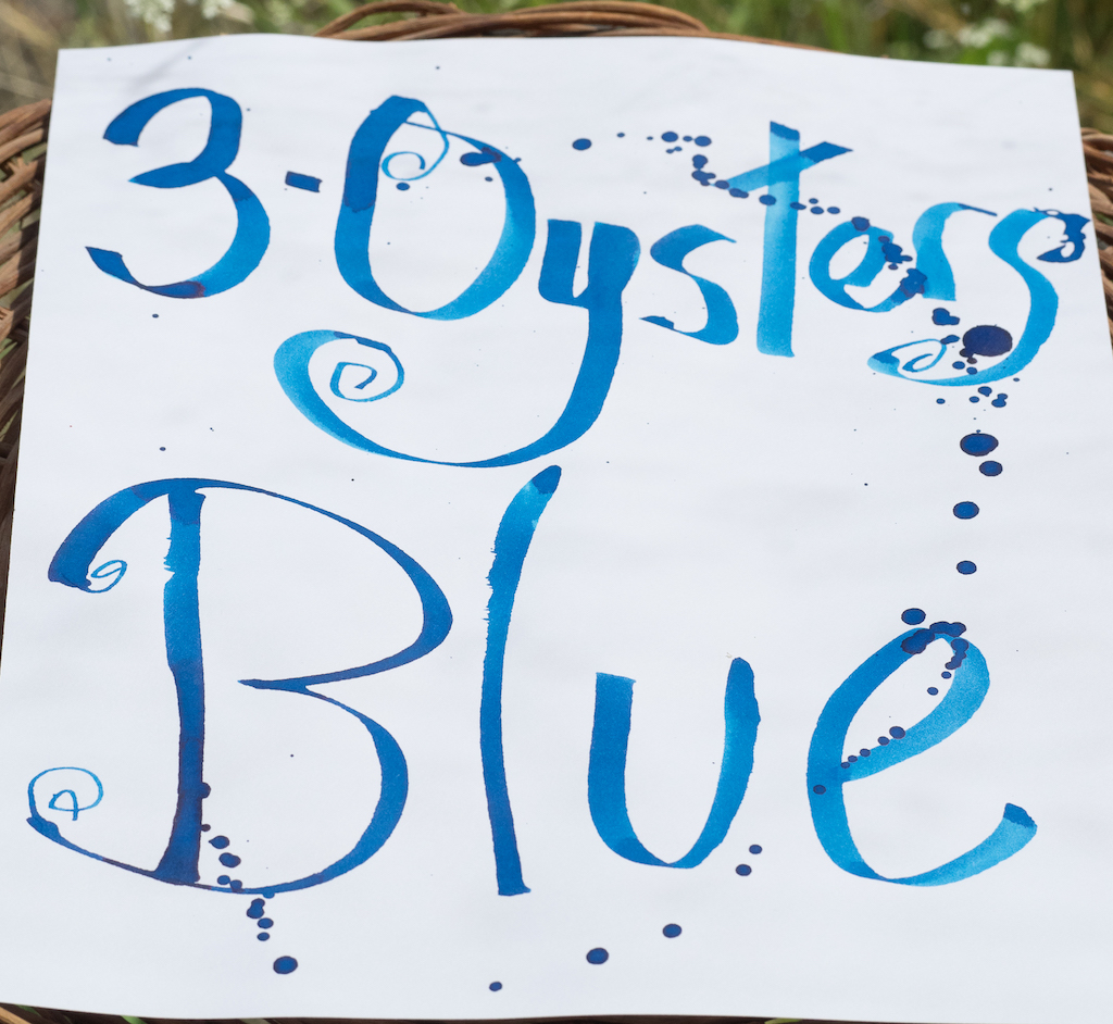 3 Oysters Ink Delicious Blue Review