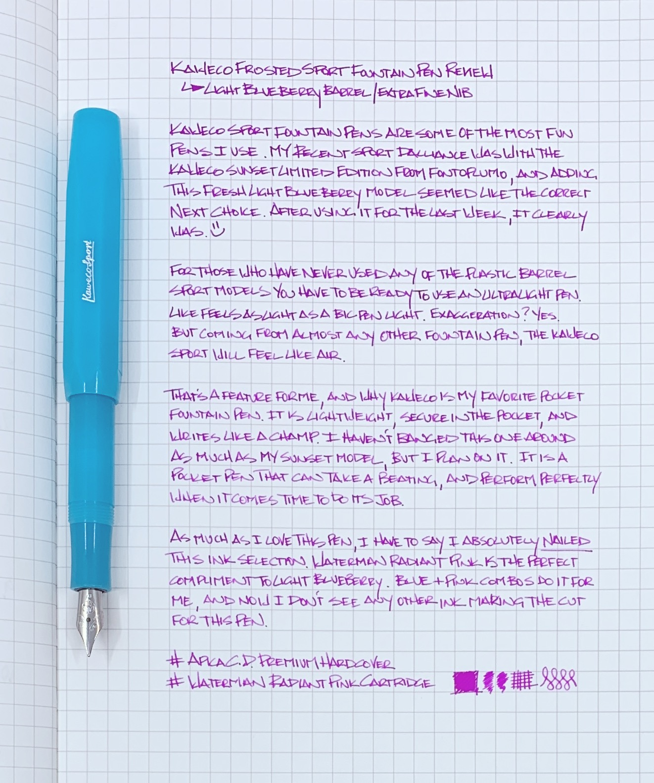 Kaweco Sport Fountain Pen Review