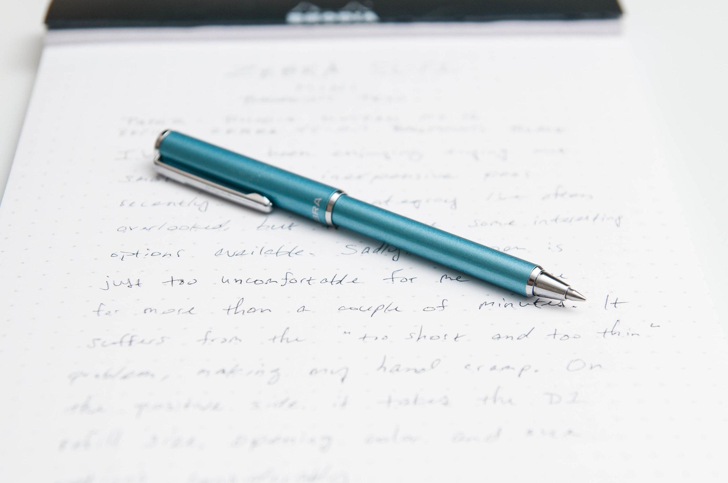 Zebra SL-F1 Mini Ballpoint Pen Expanded