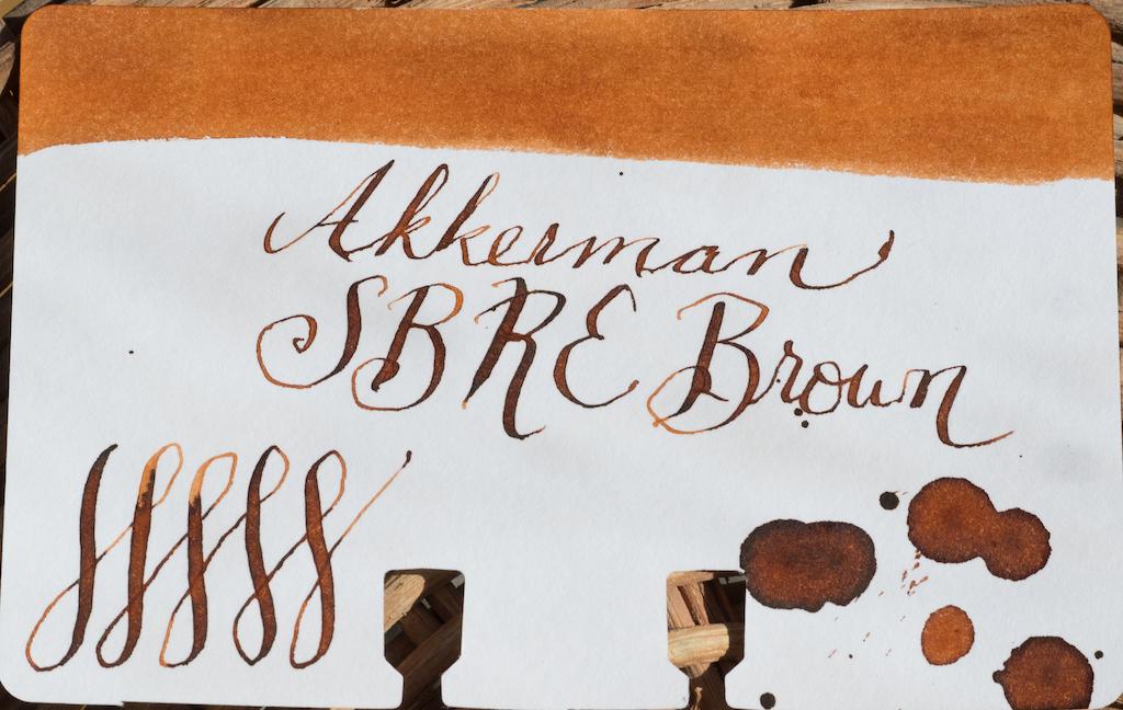 Akkerman SBRE Brown Coloring Test