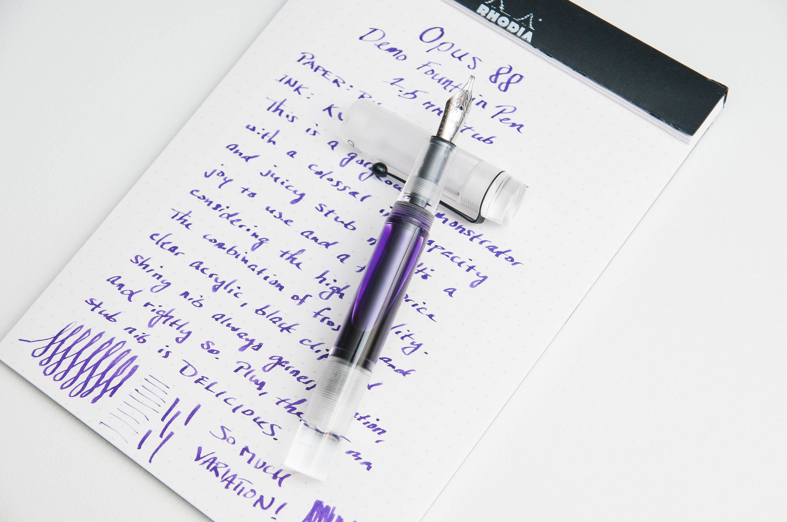 Opus 88 Demonstrator Review
