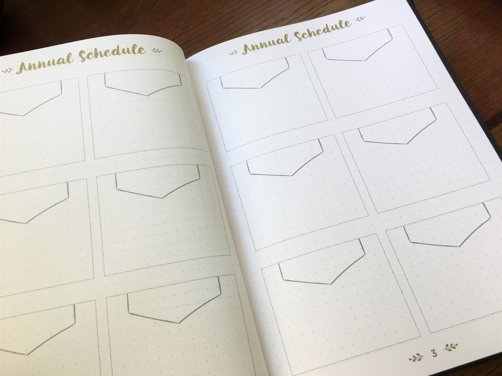 Quo Vadis Life Journal Infinite Schedule