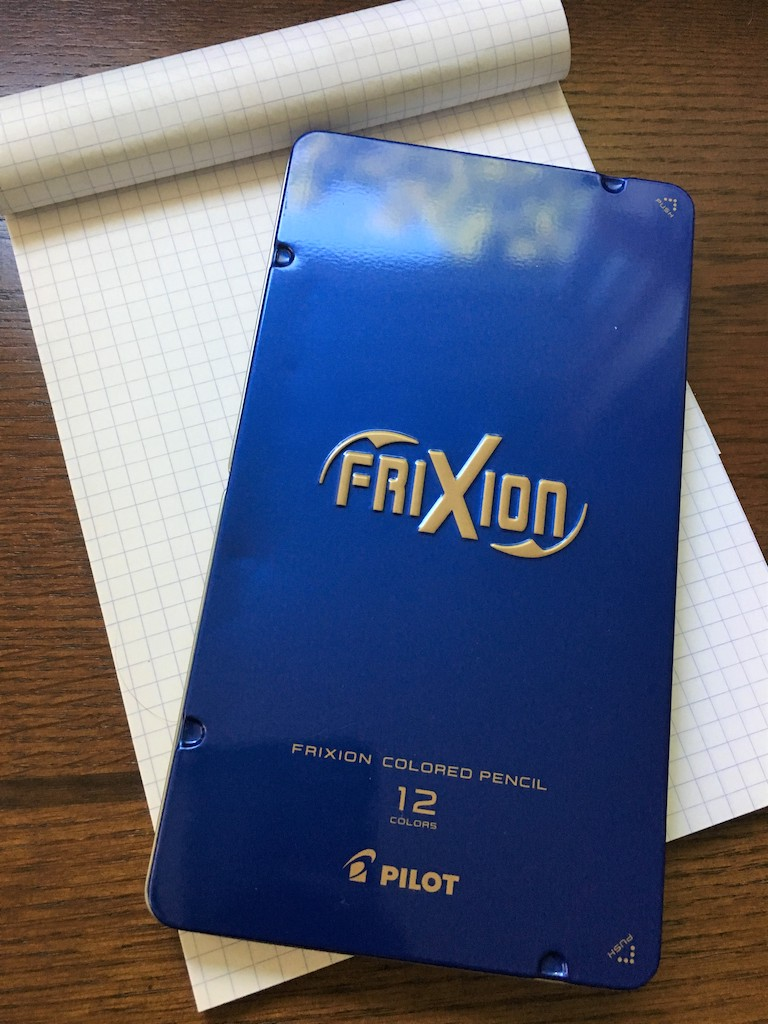 Pilot Frixion Colored Pencils Review