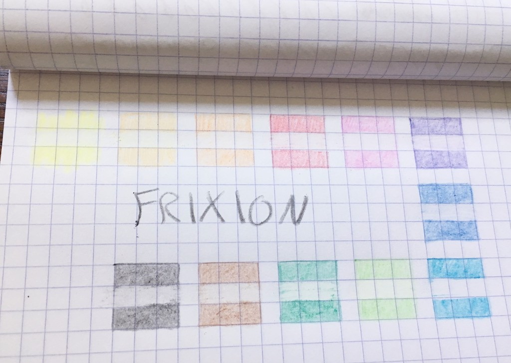 Pilot Frixion Colored Pencils Eraser