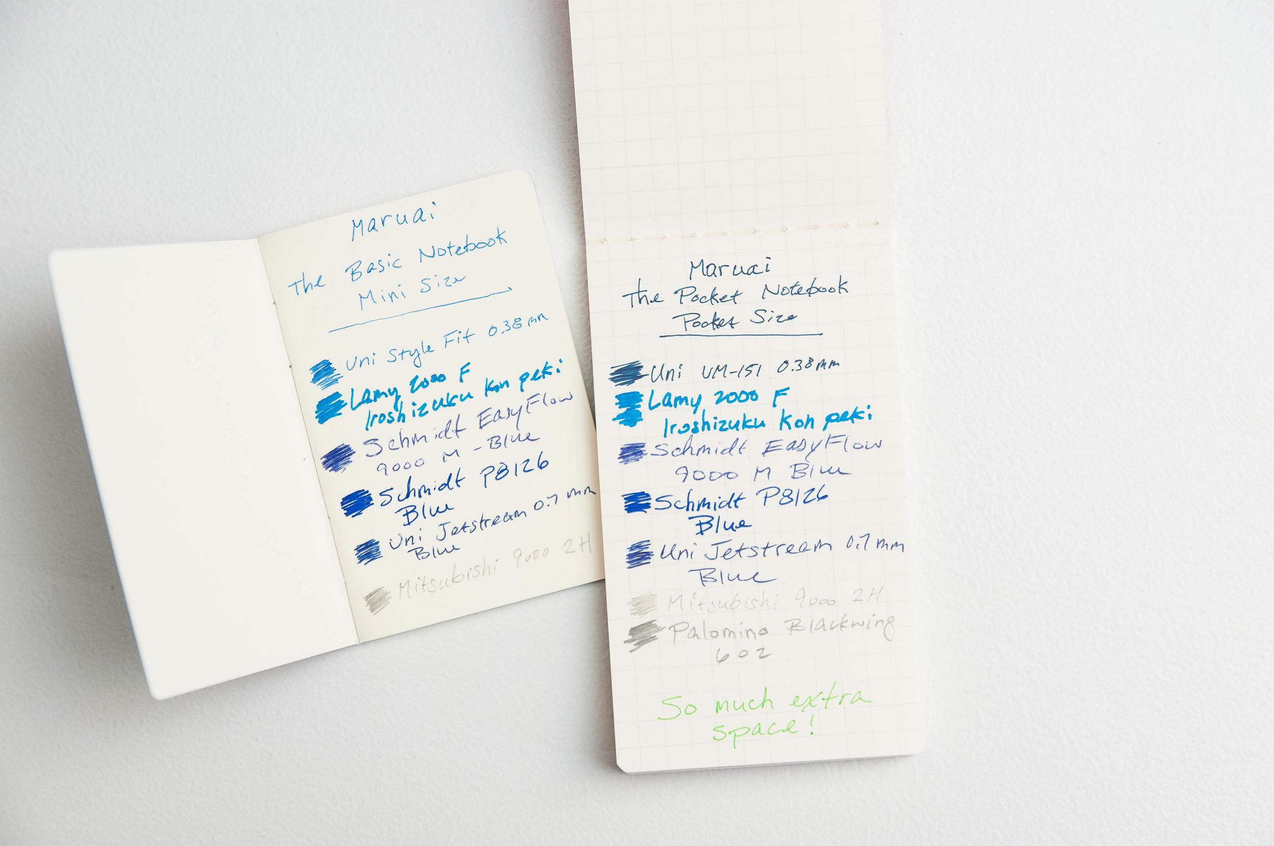 Maruai Basic Notebooks Writing
