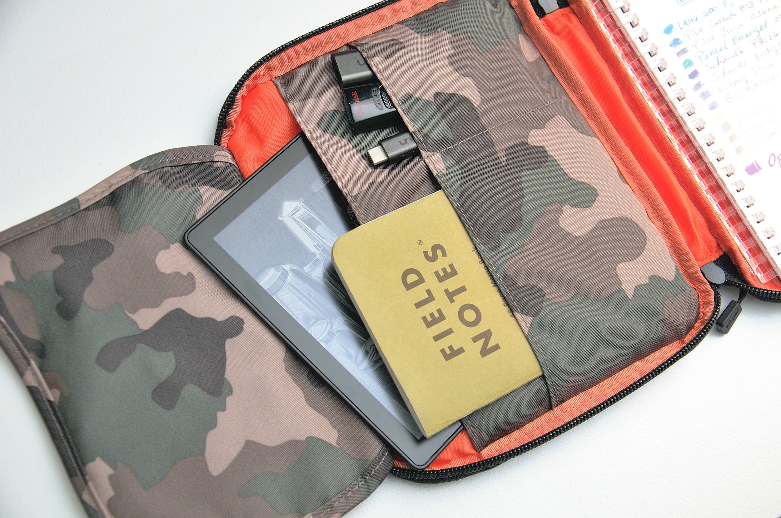 Lihit Lab Smart Fit B6 Carrying Pouch Pocket