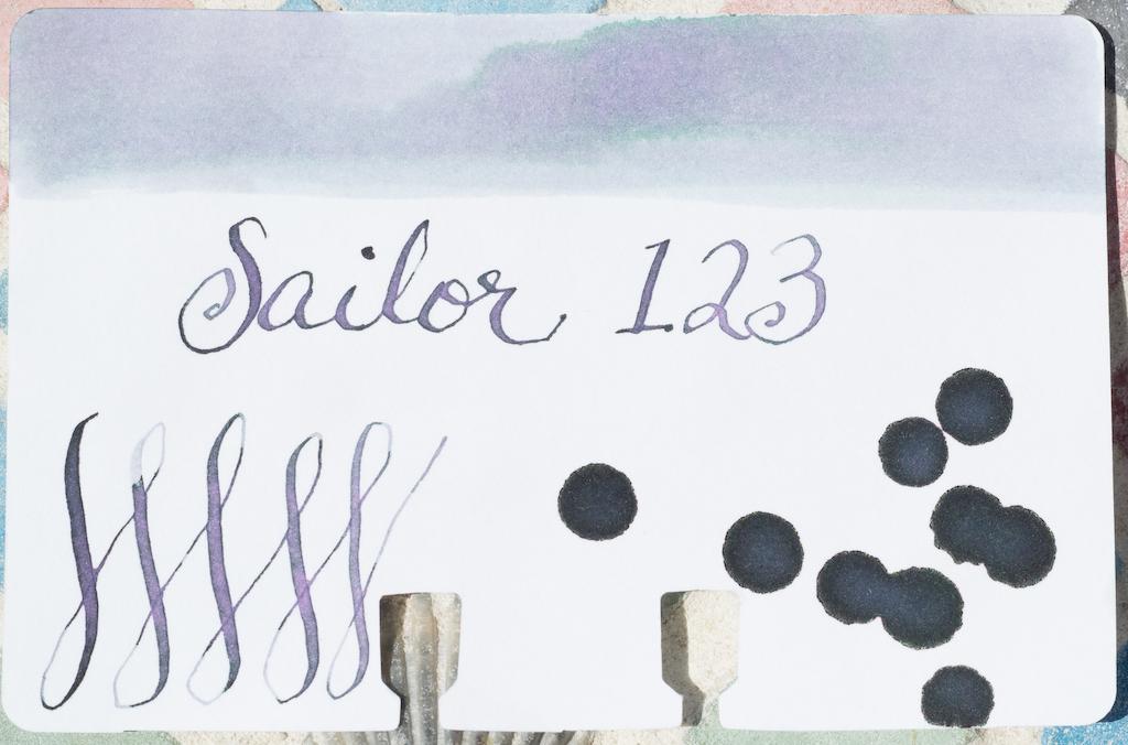 Sailor Ink Studio 123 Colodex