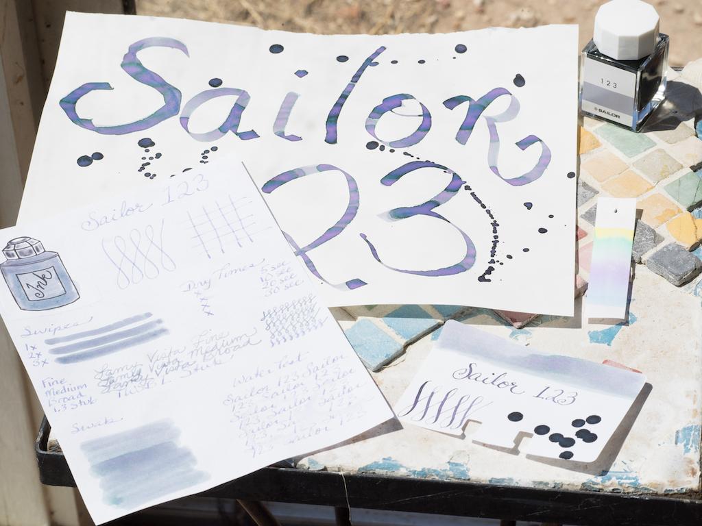 Sailor Ink Studio 123 Unicorn
