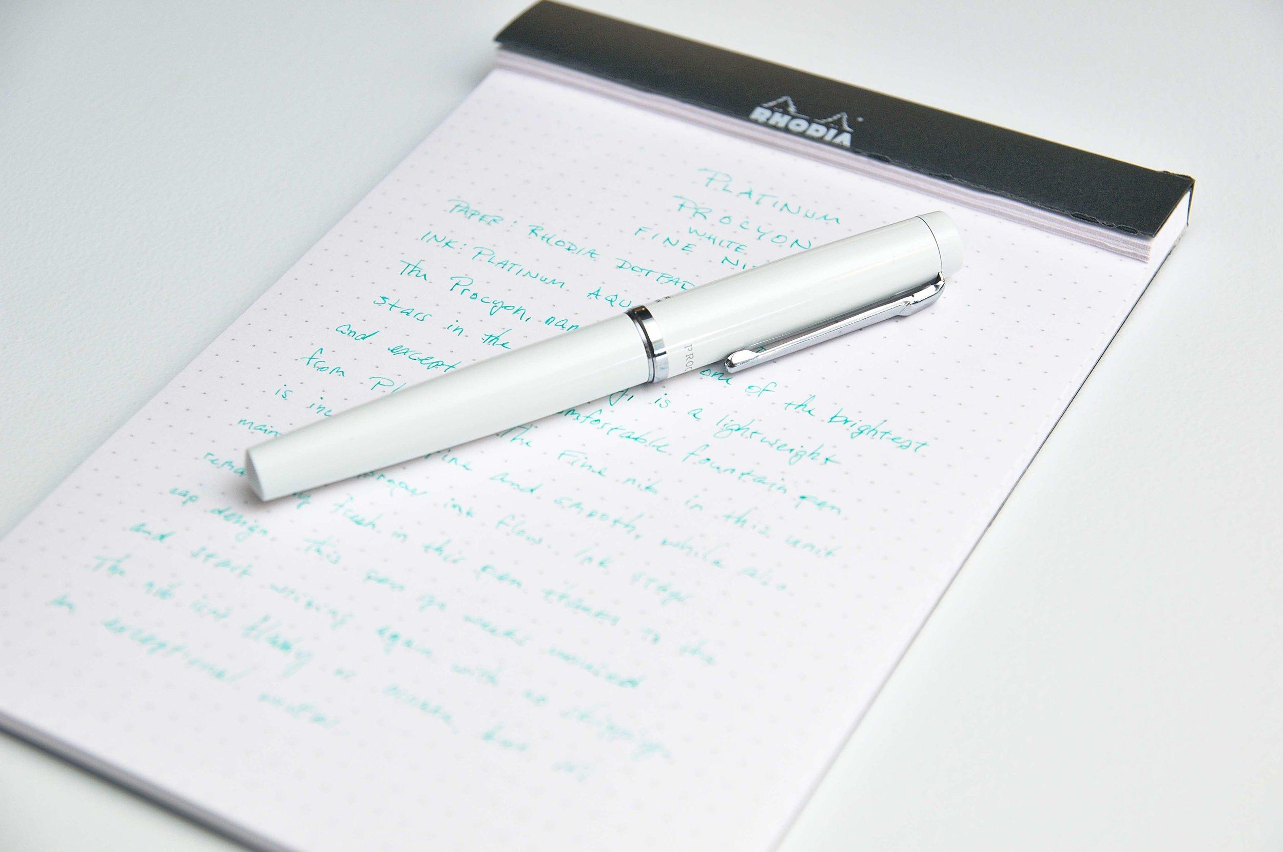 Platinum Procyon Fountain Pen Review