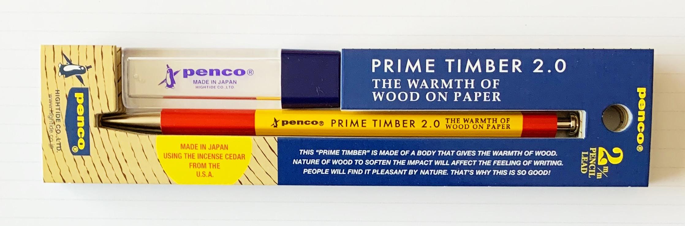 Penco Prime Timber 2.0 mm Mechanical Pencil Review